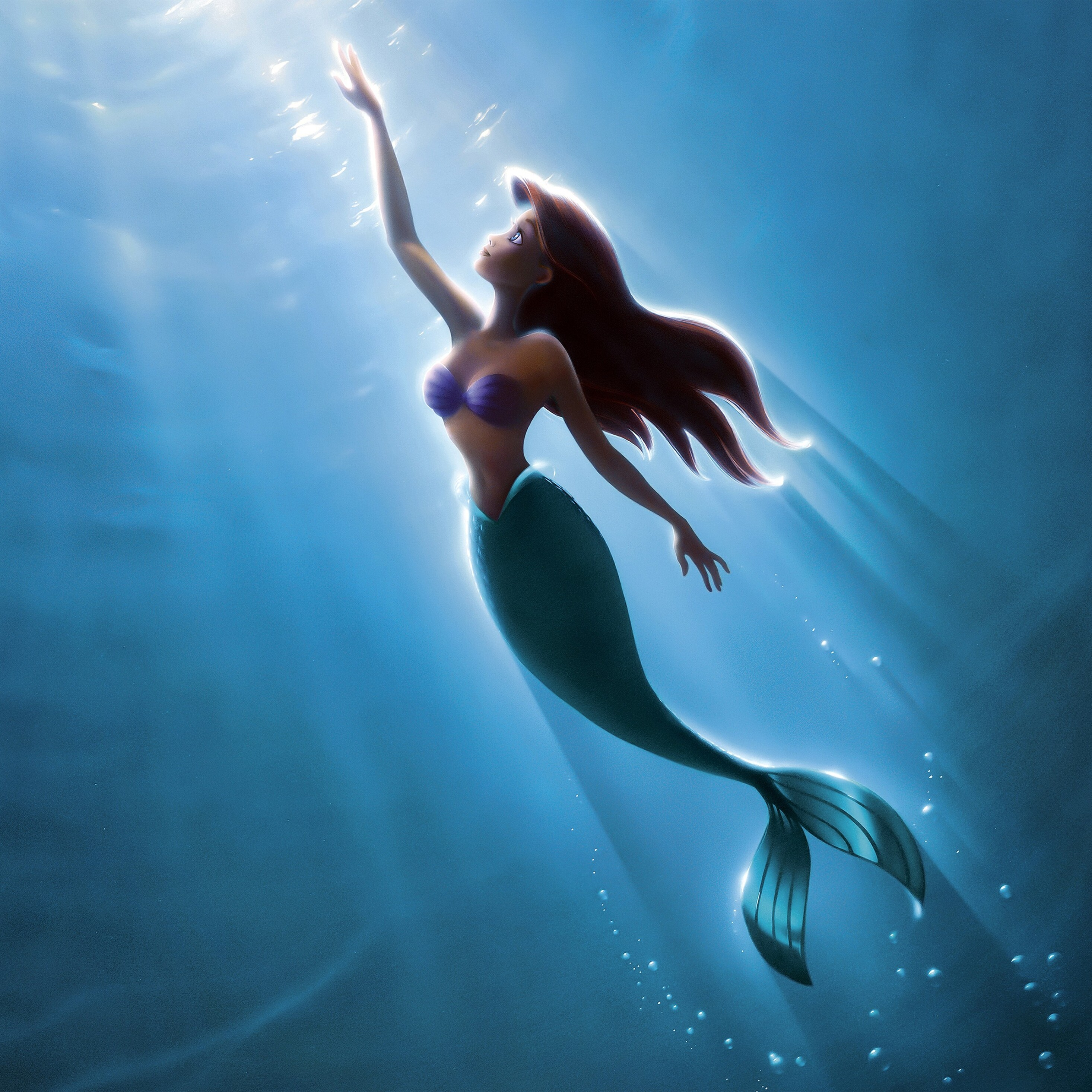 2932x2932 The Little Mermaid 4k Ipad Pro Retina Display Hd 4k Wallpapers Images Backgrounds Photos And Pictures