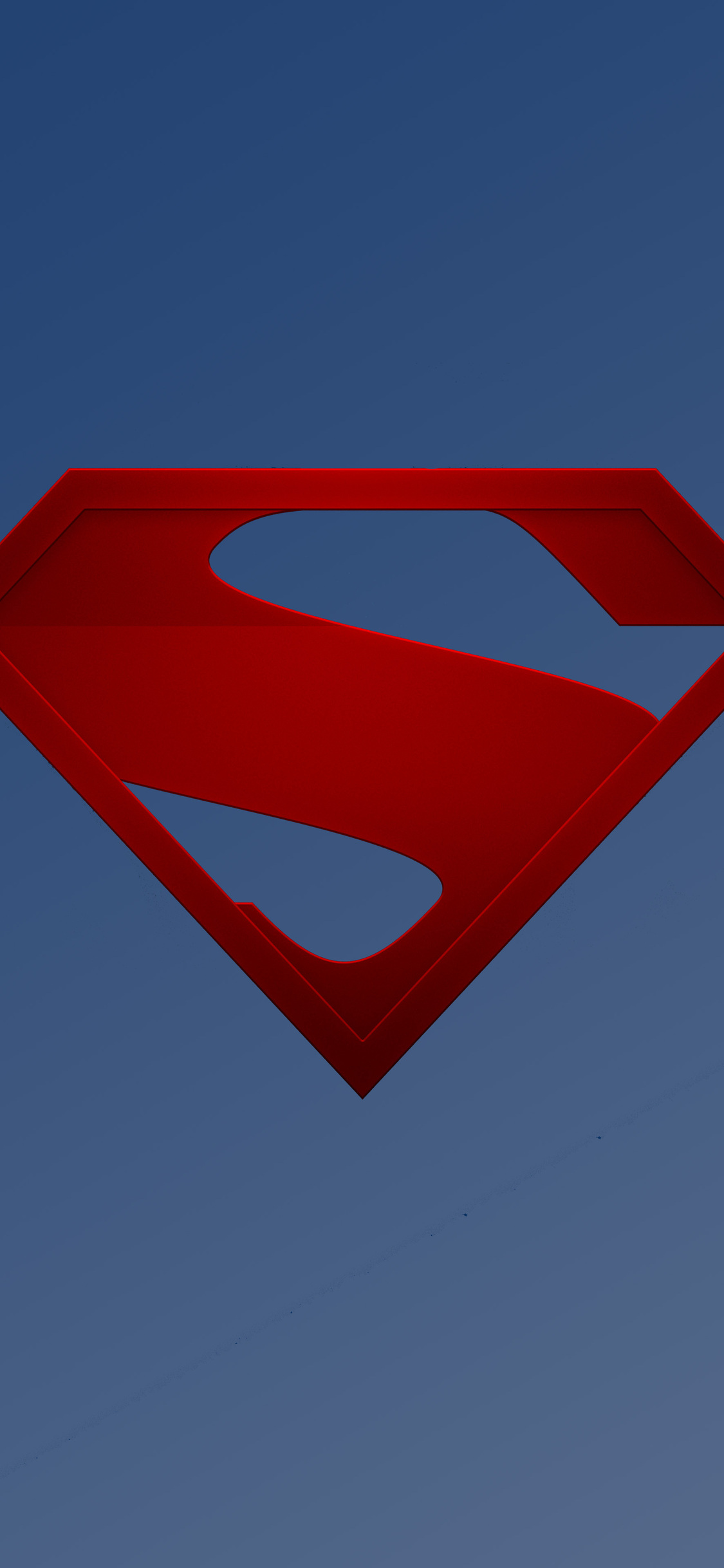 1125x2436 The Man Of Steel Logo Iphone Xs Iphone 10 Iphone X Hd 4k