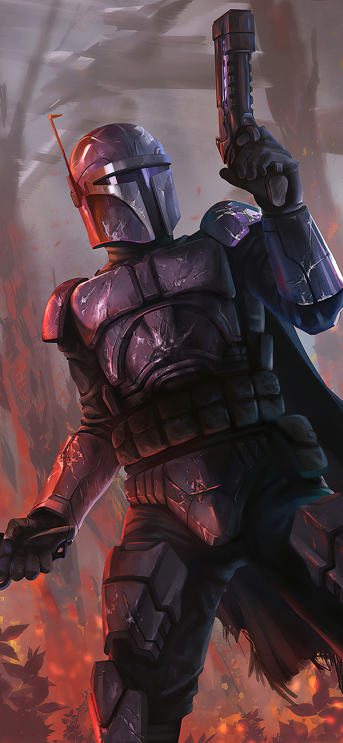 the mandalorian art new qq