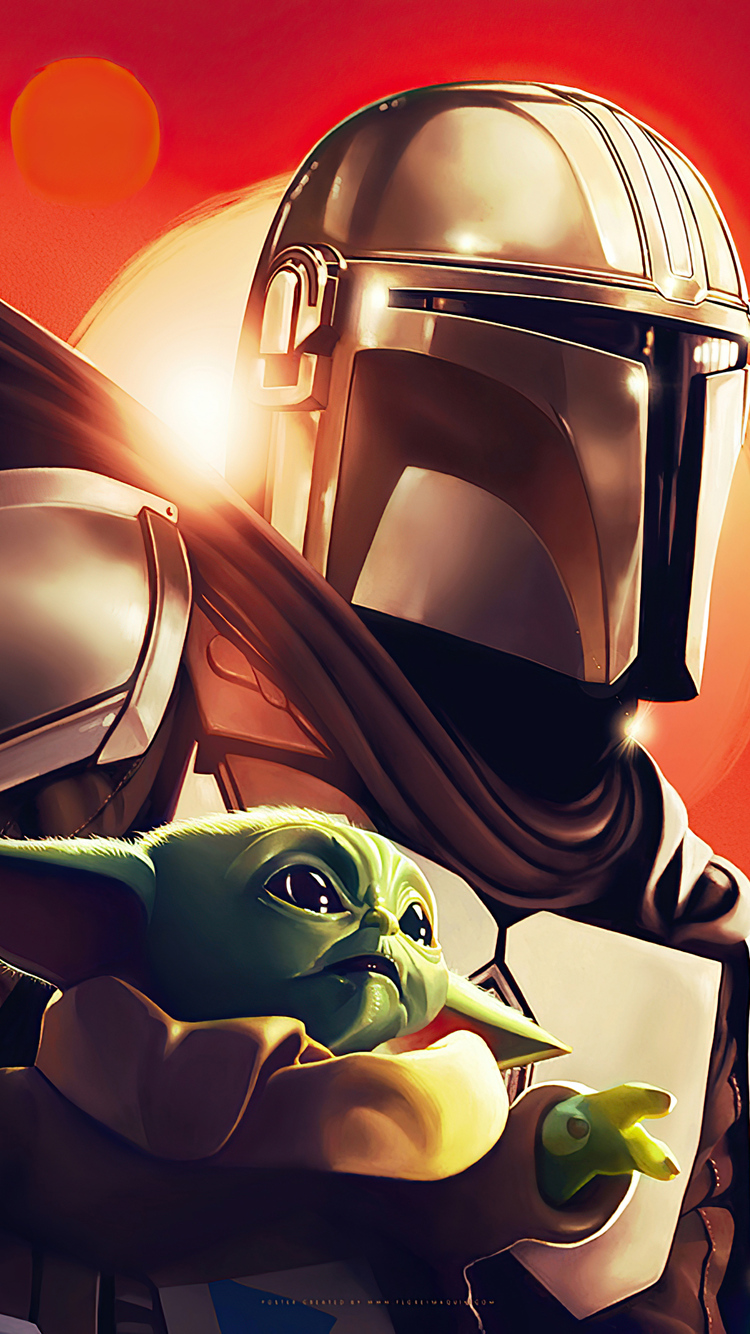 750x1334 The Mandalorian Star Wars Art Iphone 6 Iphone 6s Iphone 7 Hd 4k Wallpapers Images Backgrounds Photos And Pictures