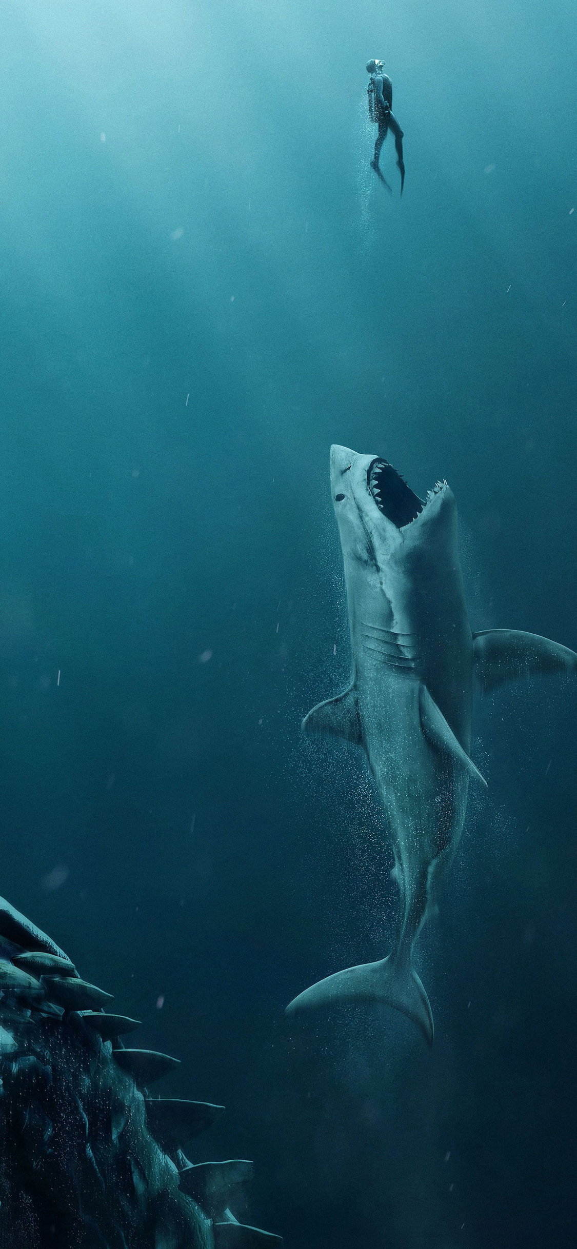 1125x2436 the meg movie 4k iphone xs iphone 10 iphone x hd - 4k girl wallpaper for iphone ...