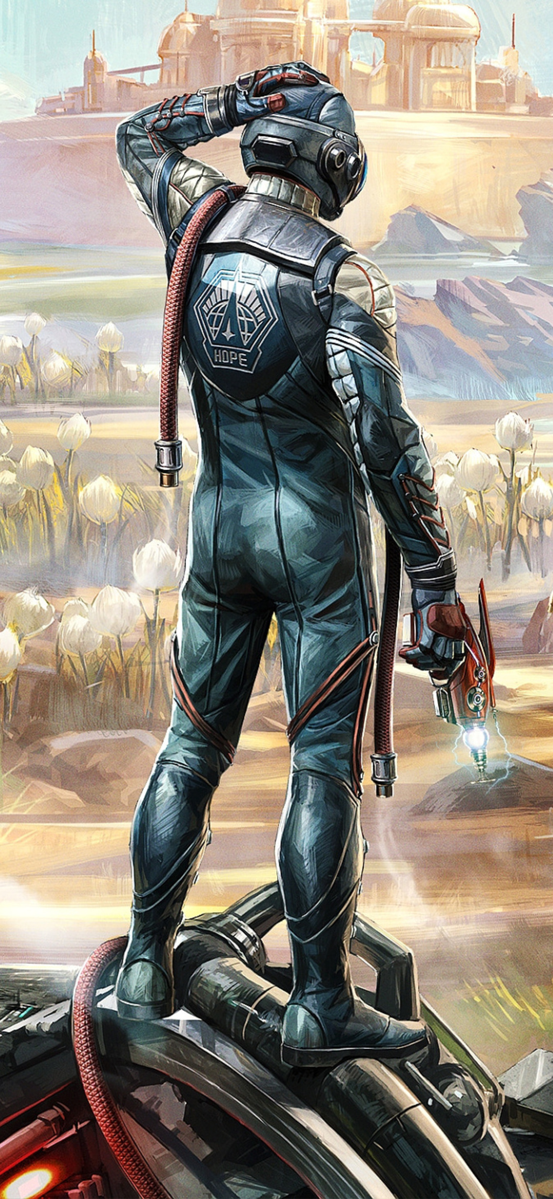 1125x2436 The Outer Worlds Game 4k Iphone Xs Iphone 10 Iphone X Hd