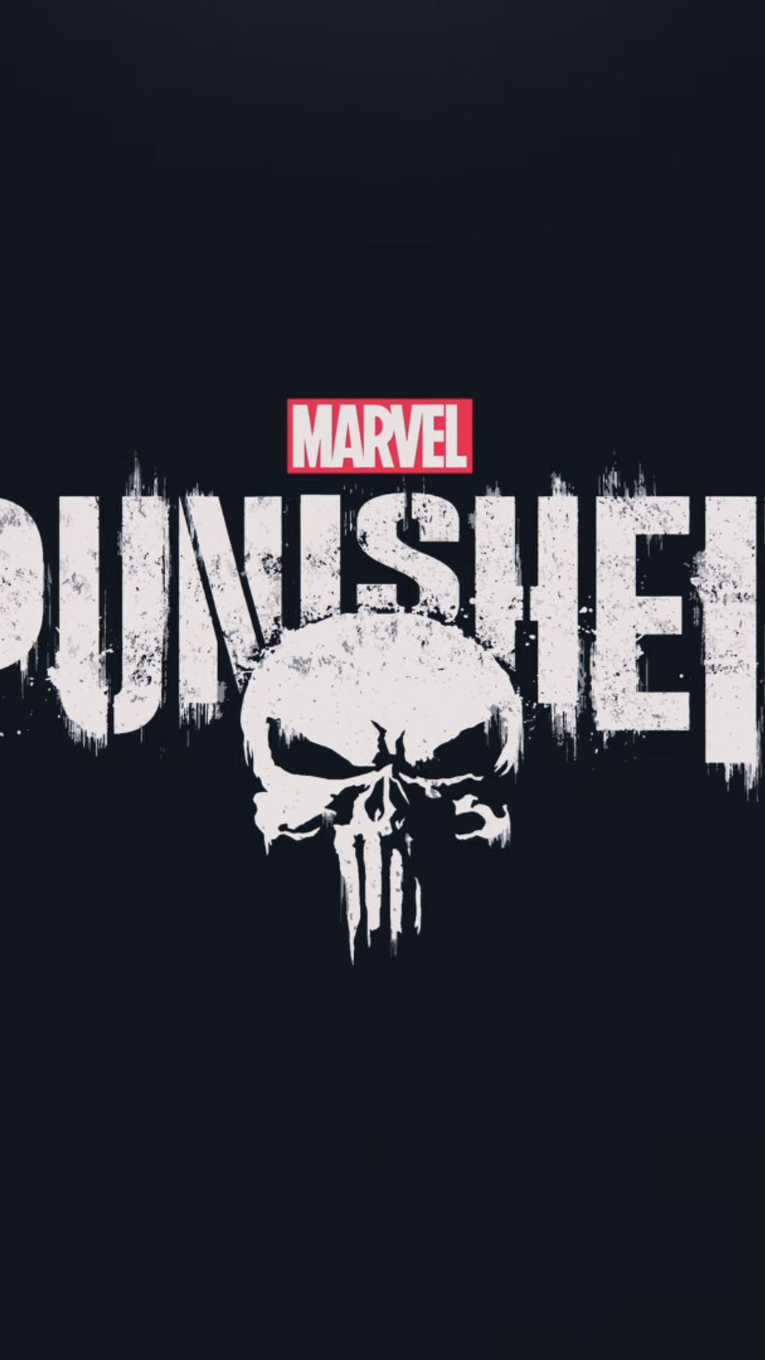1080x1920 the punisher 2017 hd logo iphone 7,6s,6 plus, pixel xl