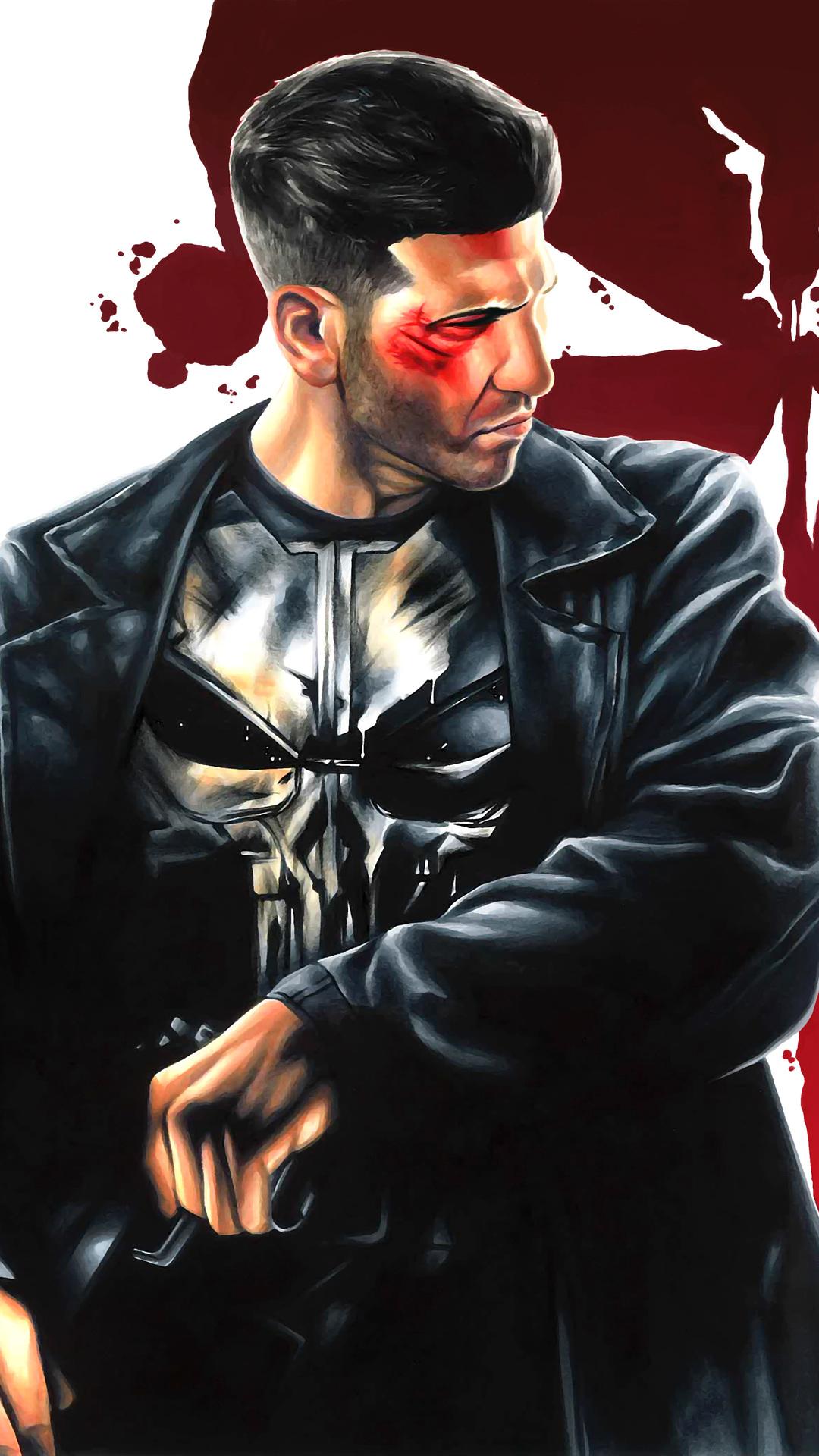 1080x1920 The Punisher Fanart Iphone 7,6s,6 Plus, Pixel xl ...