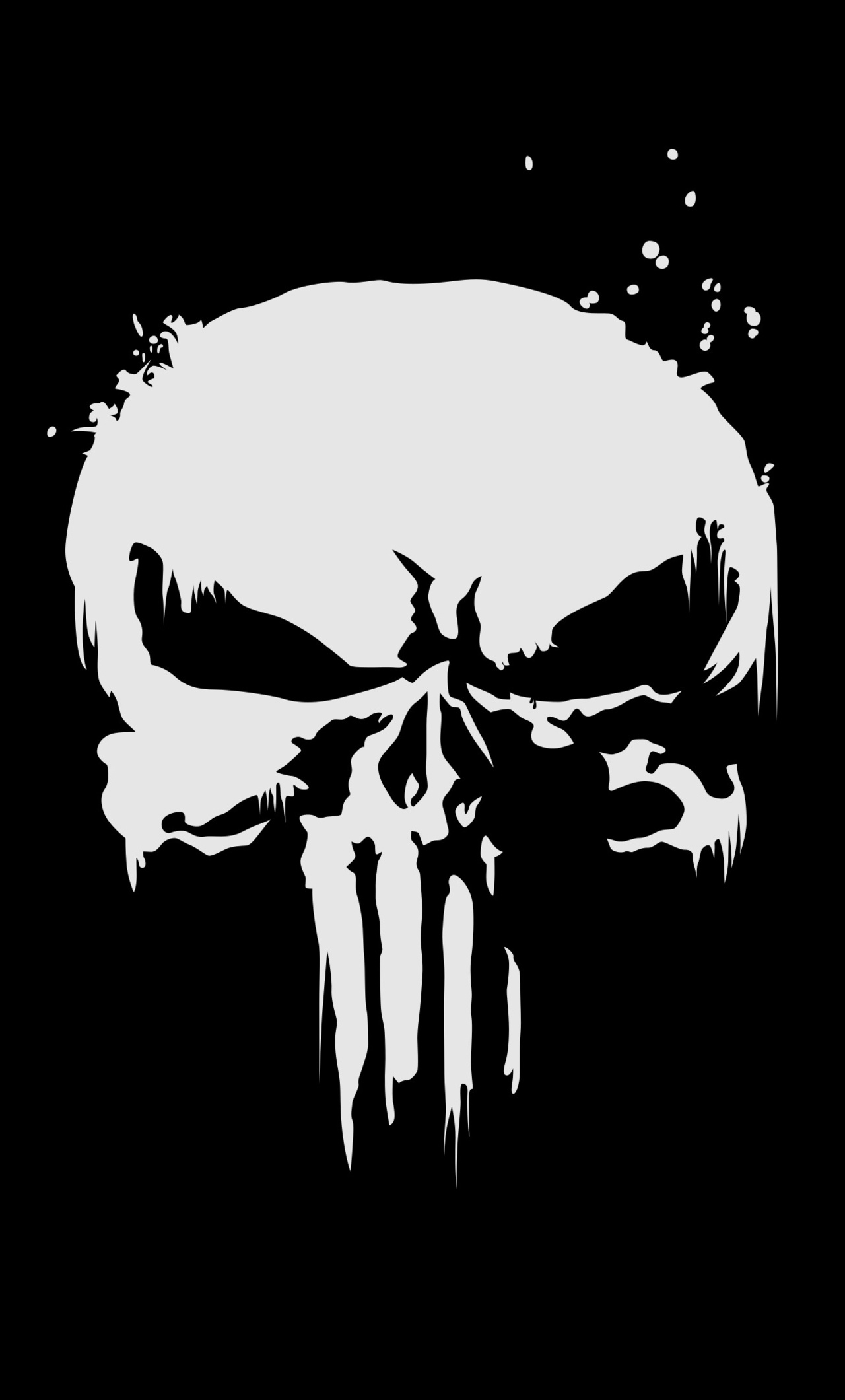 1280x2120 The Punisher Logo 4k Iphone 6 Hd 4k Wallpapers Images