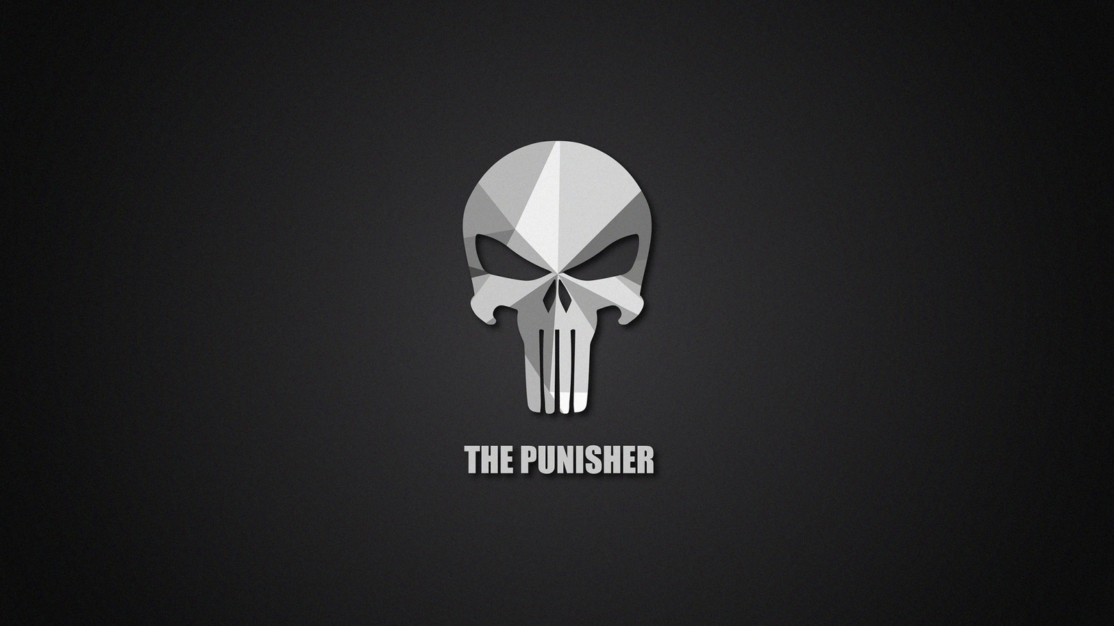 1600x900 The Punisher Material Logo 1600x900 Resolution Hd 4k