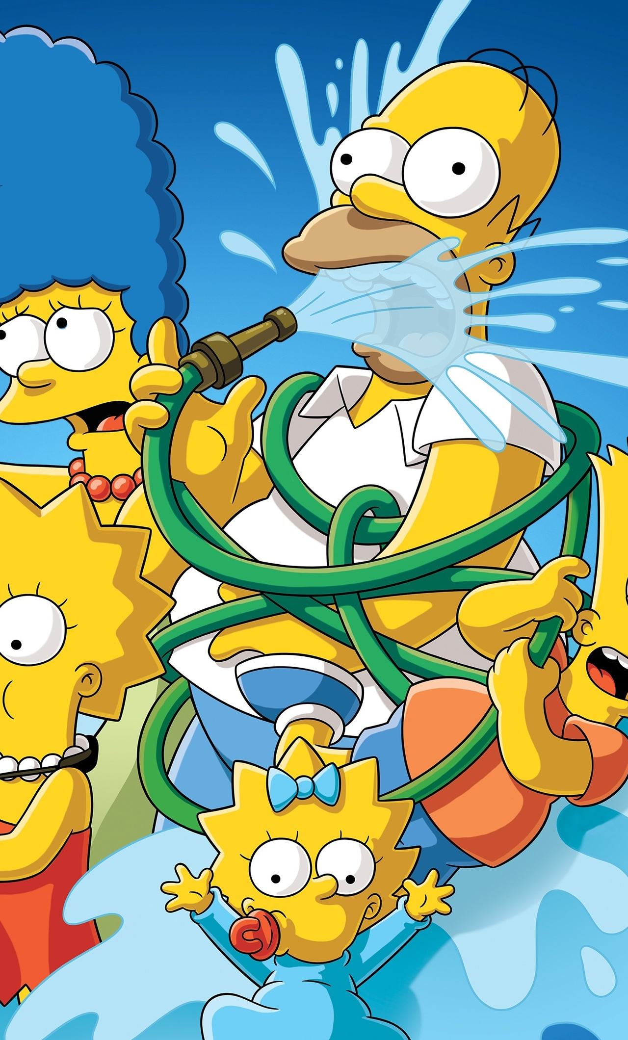 1280x2120 The Simpsons 4k iPhone 6+ HD 4k Wallpapers ...