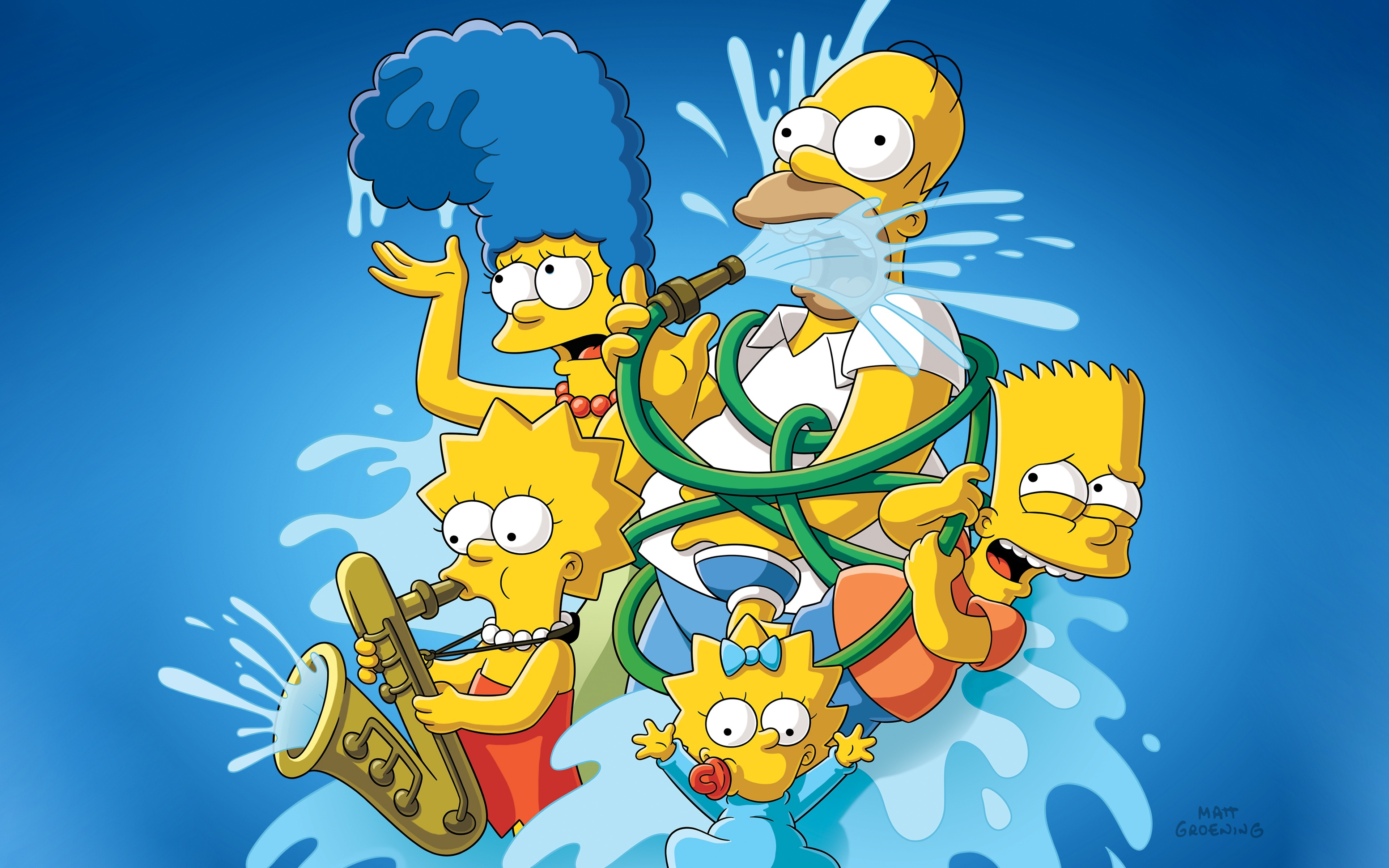 3840x2400 The Simpsons 4k 4k Hd 4k Wallpapers Images Backgrounds