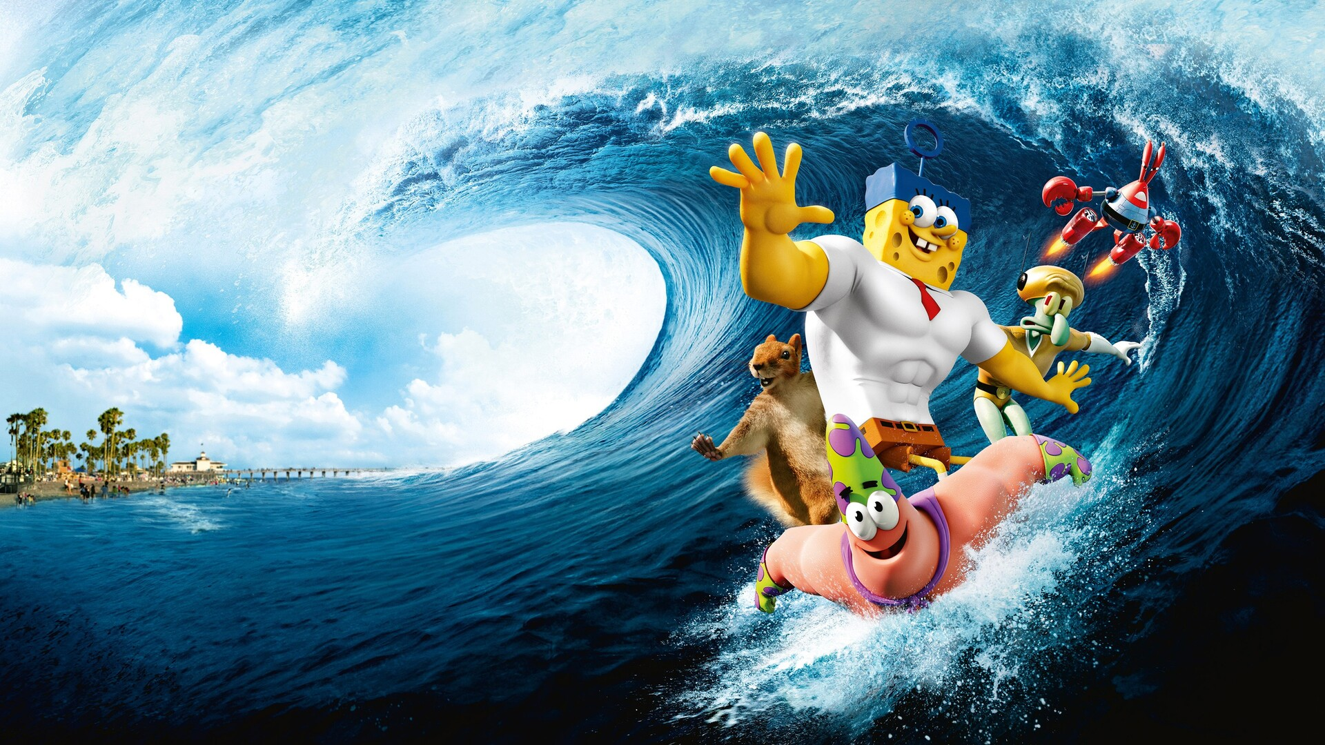 1920x1080 the spongebob movie laptop full hd 1080p hd 4k wallpapers