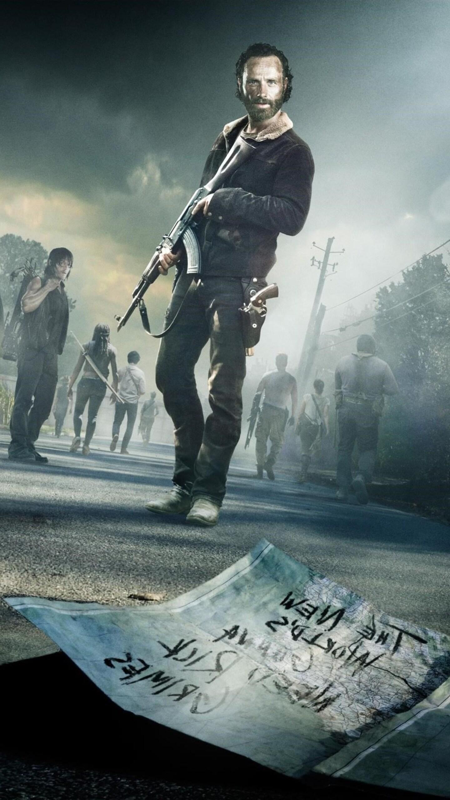 1440x2560 The Walking Dead Season 5 Samsung Galaxy S6s7 Google