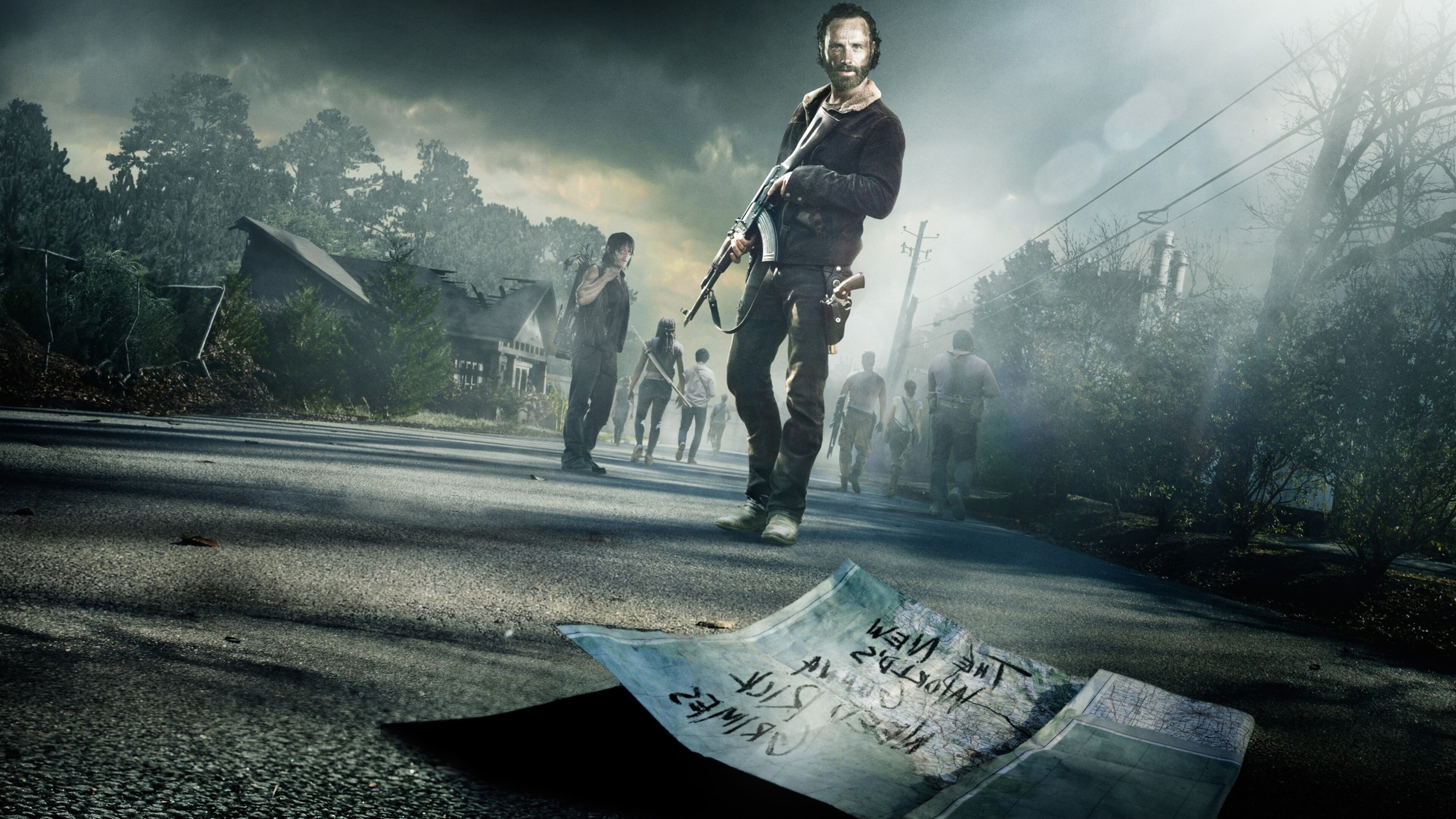 3840x2160 The Walking Dead Season 5 4k Hd 4k Wallpapers Images