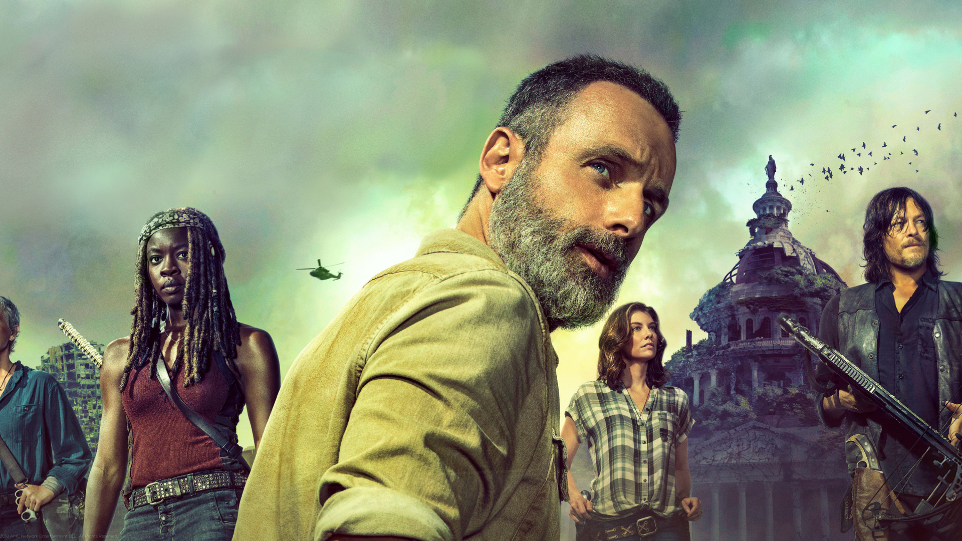 1920x1080 The Walking Dead Season 9 2018 Laptop Full Hd 1080p Hd