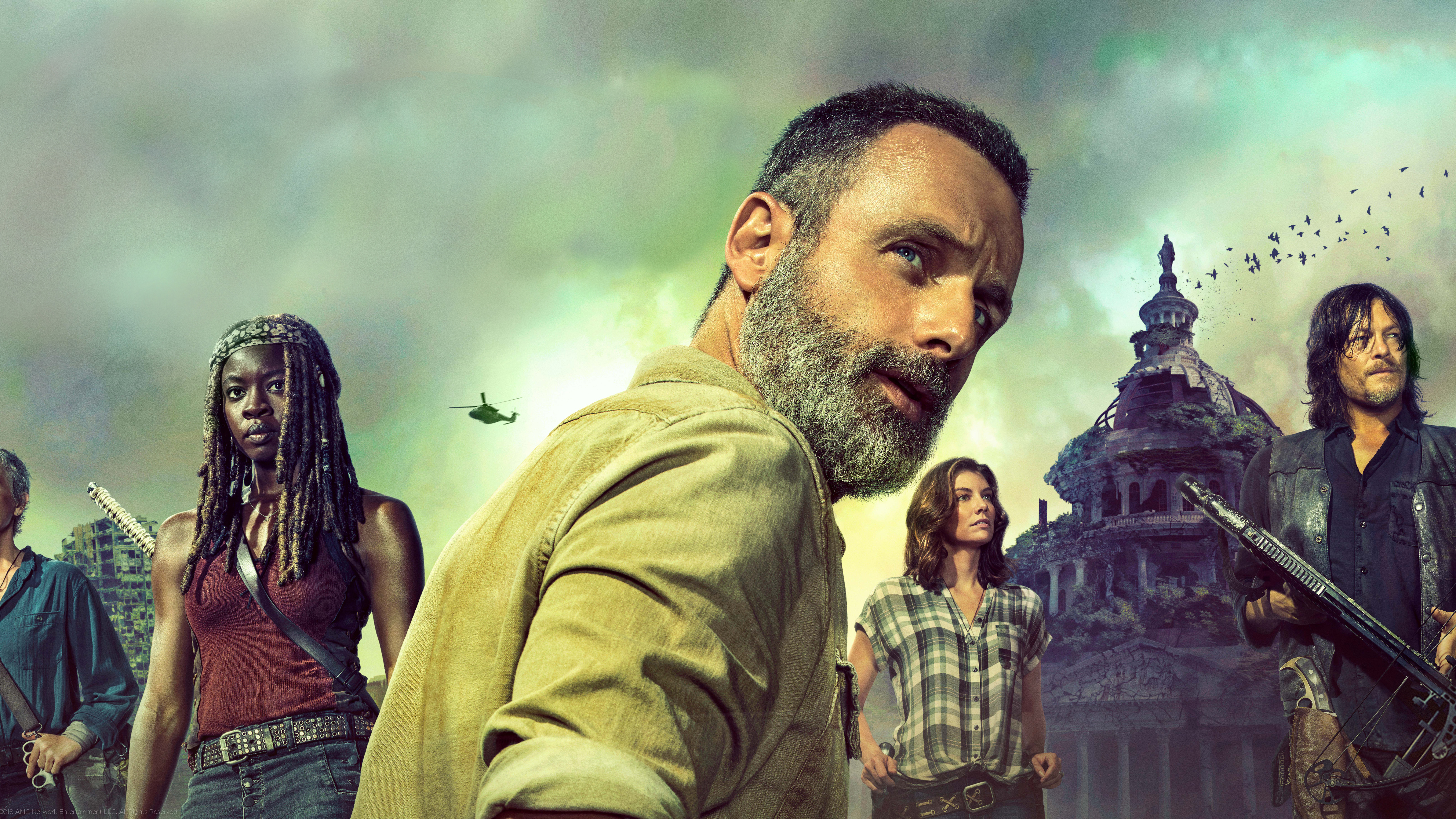 7680x4320 The Walking Dead Season 9 2018 8k Hd 4k Wallpapers Images