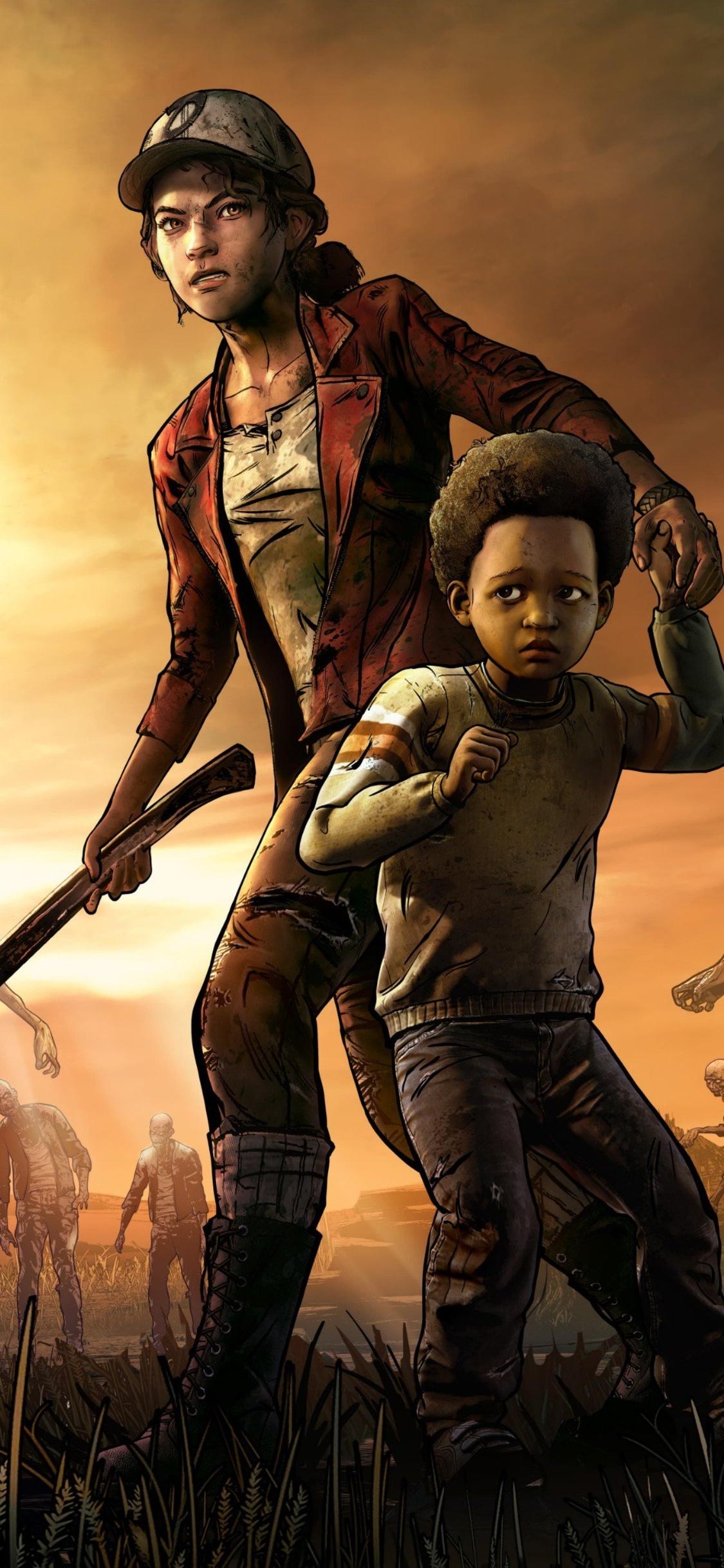 1125×2436 The Walking Dead The Final Season 4k Iphone Xs Iphone 10. The Walking Dead Game Wallpaper Wallpapersafari