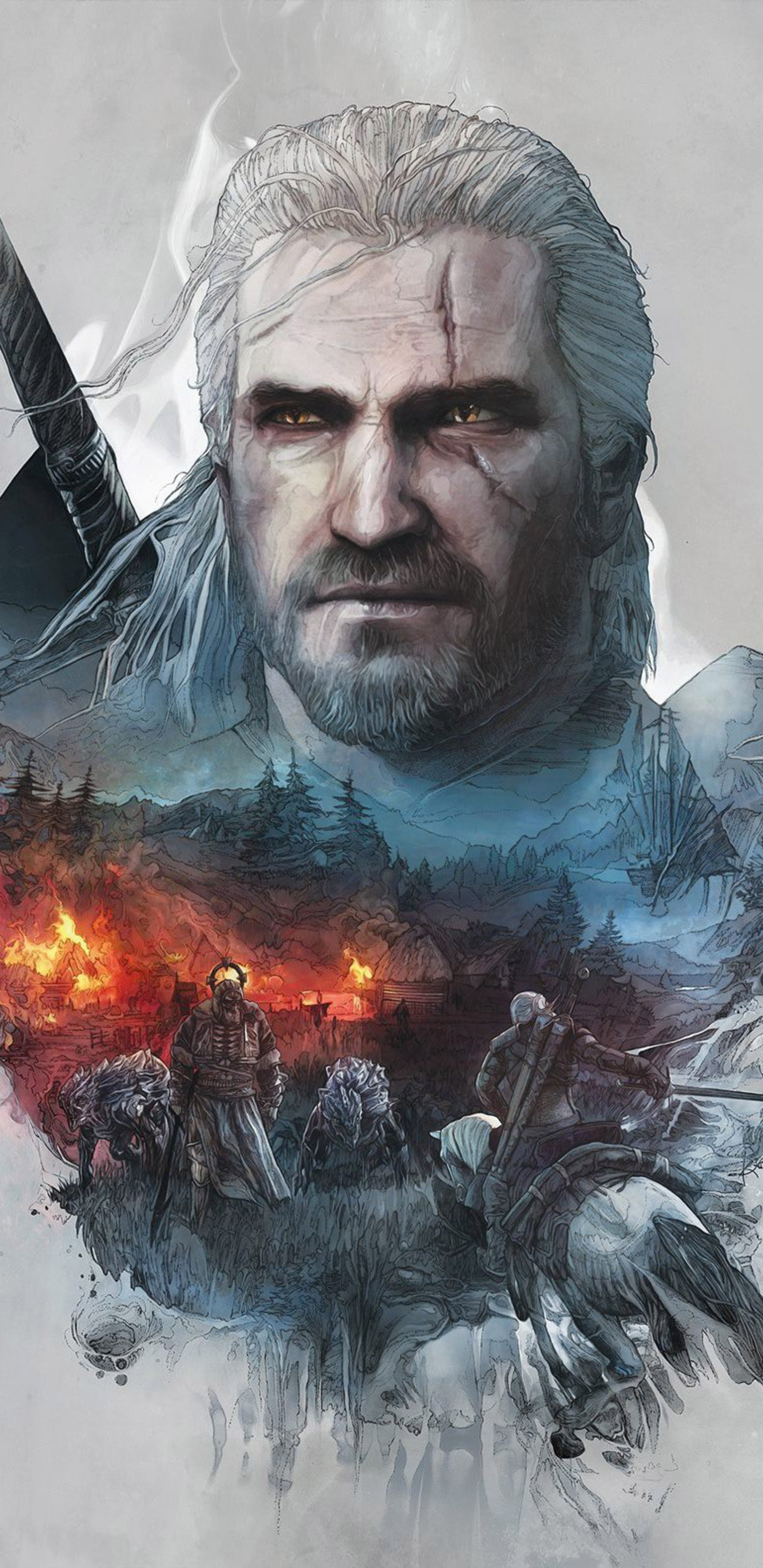 the witcher 3 wallpapers for android