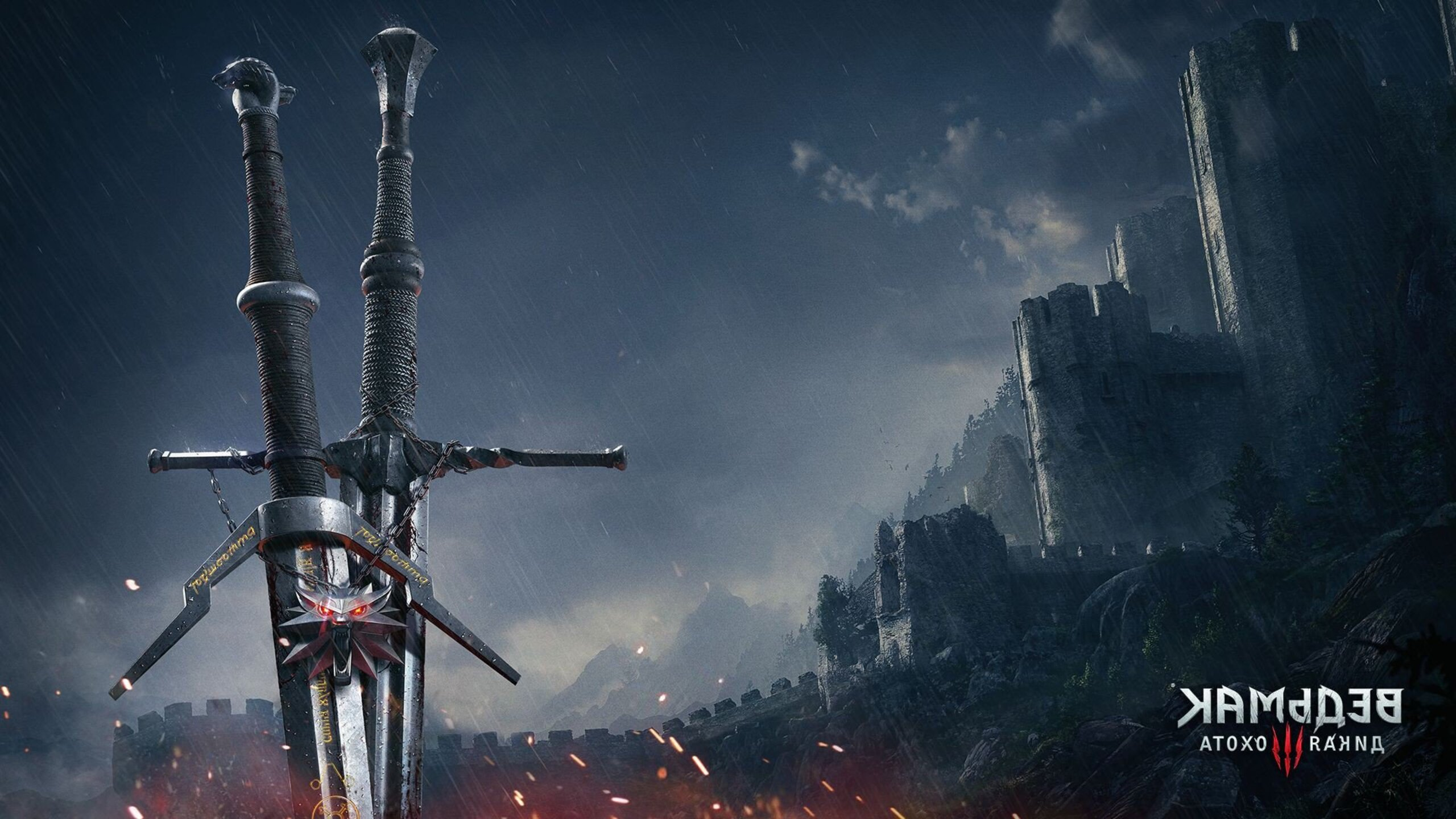 2560x1440 The Witcher 3 Sword 1440p Resolution Hd 4k Wallpapers