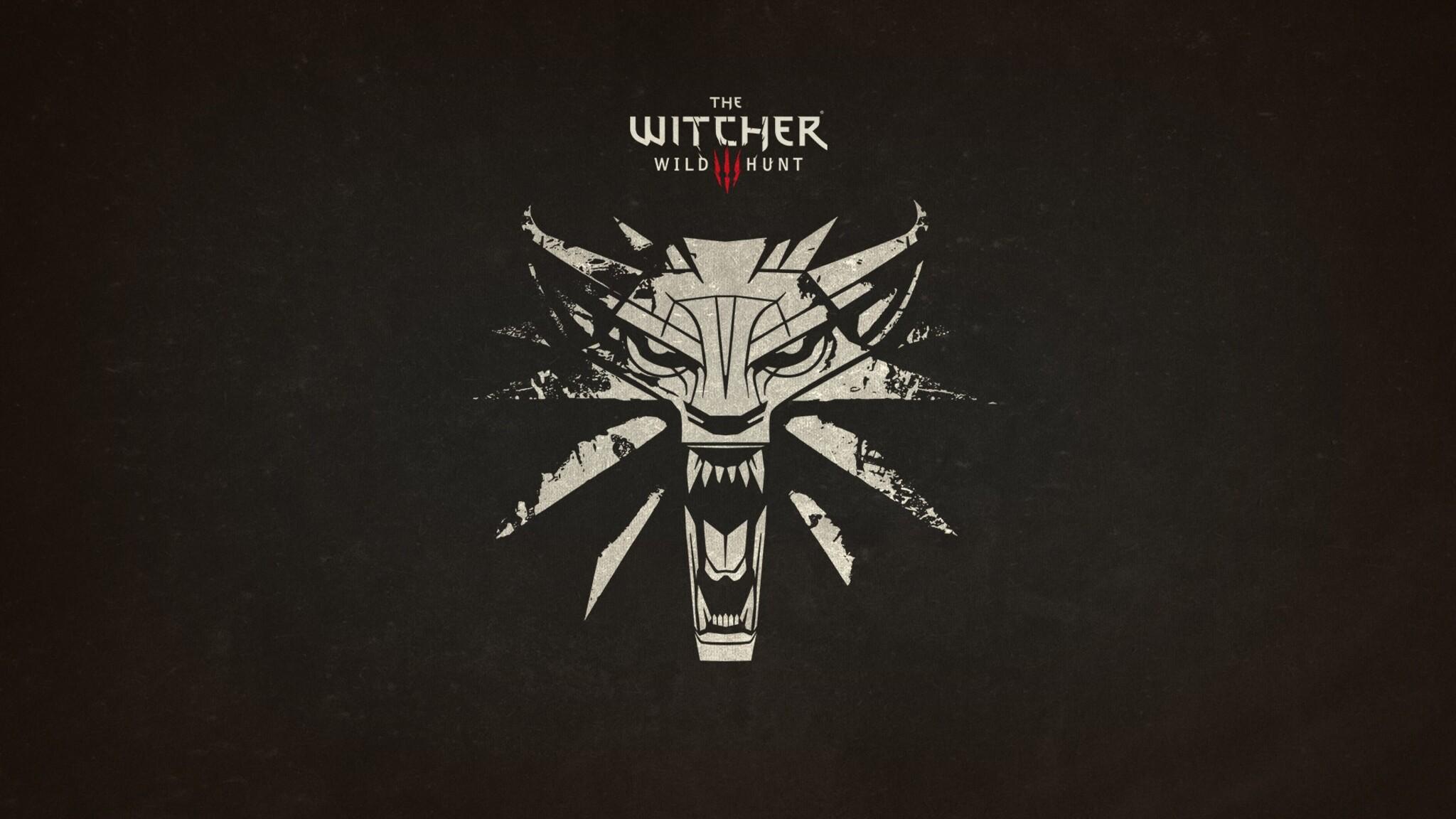 2048x1152 The Witcher 3 Wild Hunt Logo 2048x1152