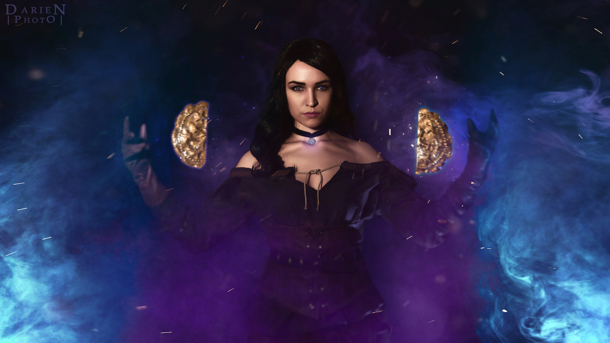 2048x1152 The Witcher 3 Wild Hunt Yennefer Of Vengerberg Cosplay