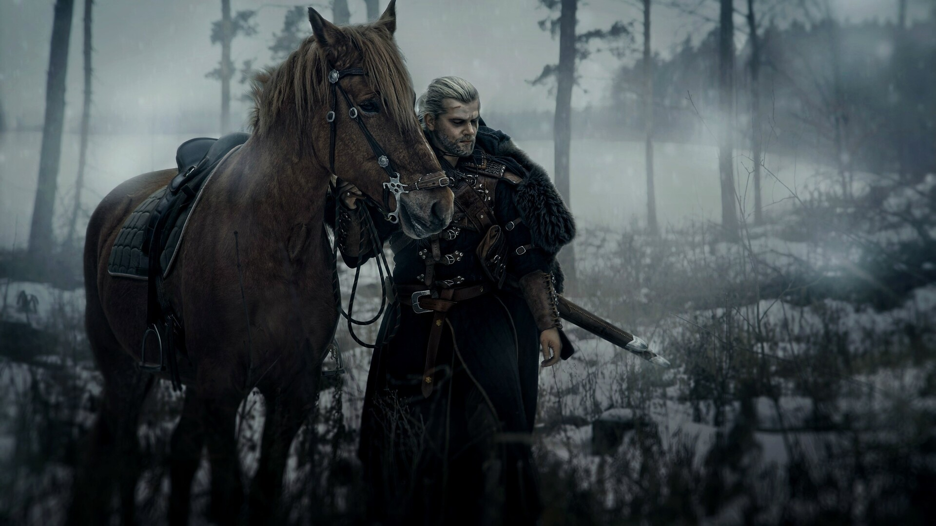 1920x1080 The Witcher Geralt Of Rivia Cosplay Laptop Full
