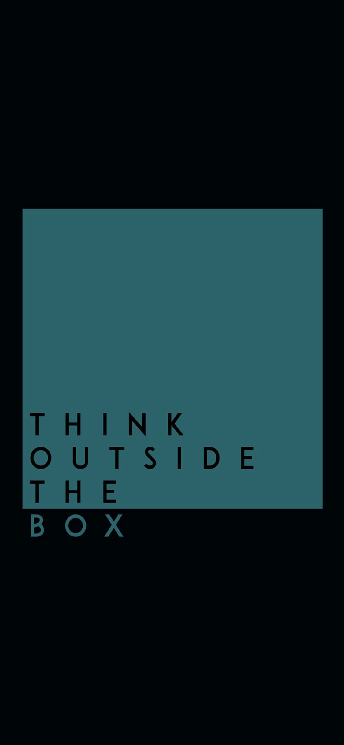 1125x2436 Think Outside The Box HD Iphone XS,Iphone 10,Iphone X HD 4k Wallpapers, Images ...