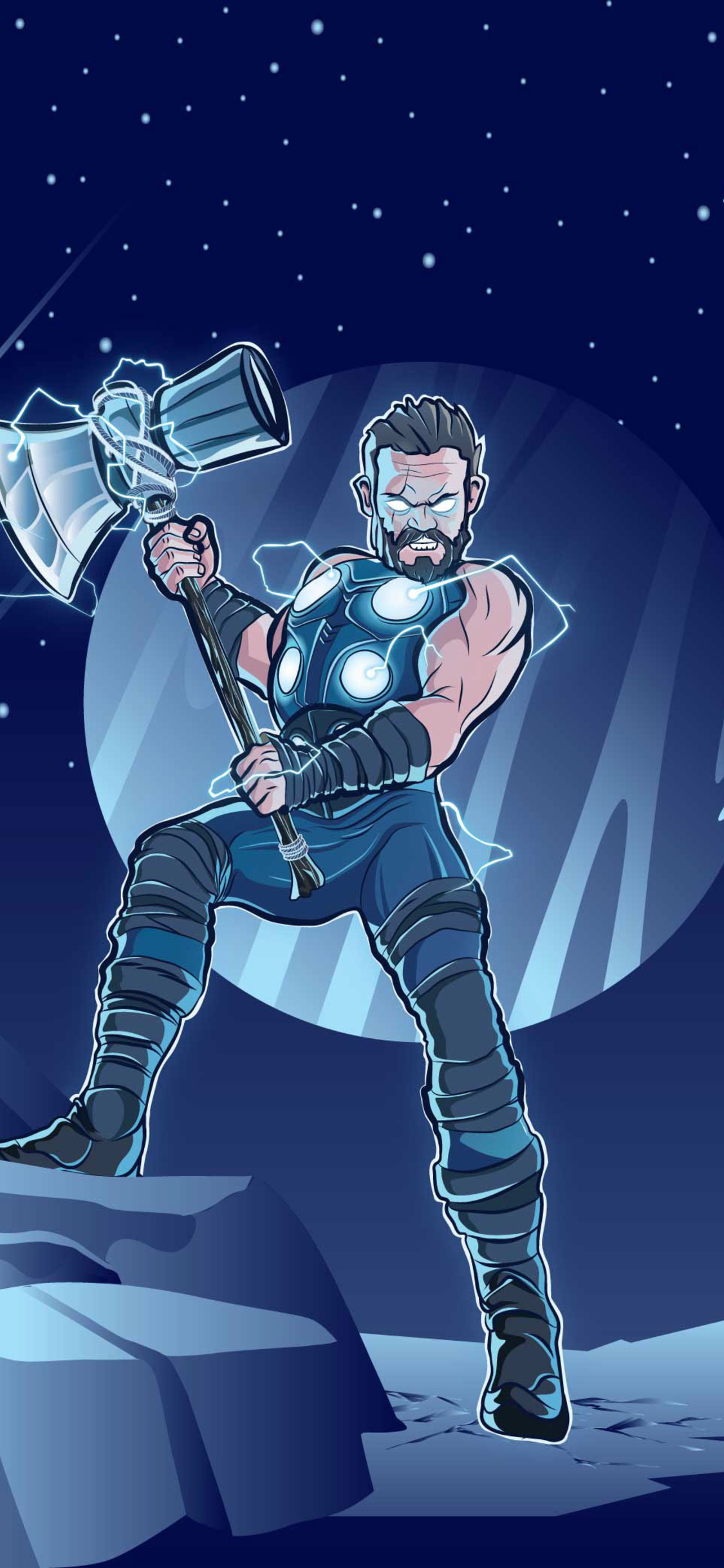 1125x2436 Thor And Stormbreaker Iphone Xsiphone 10iphone X