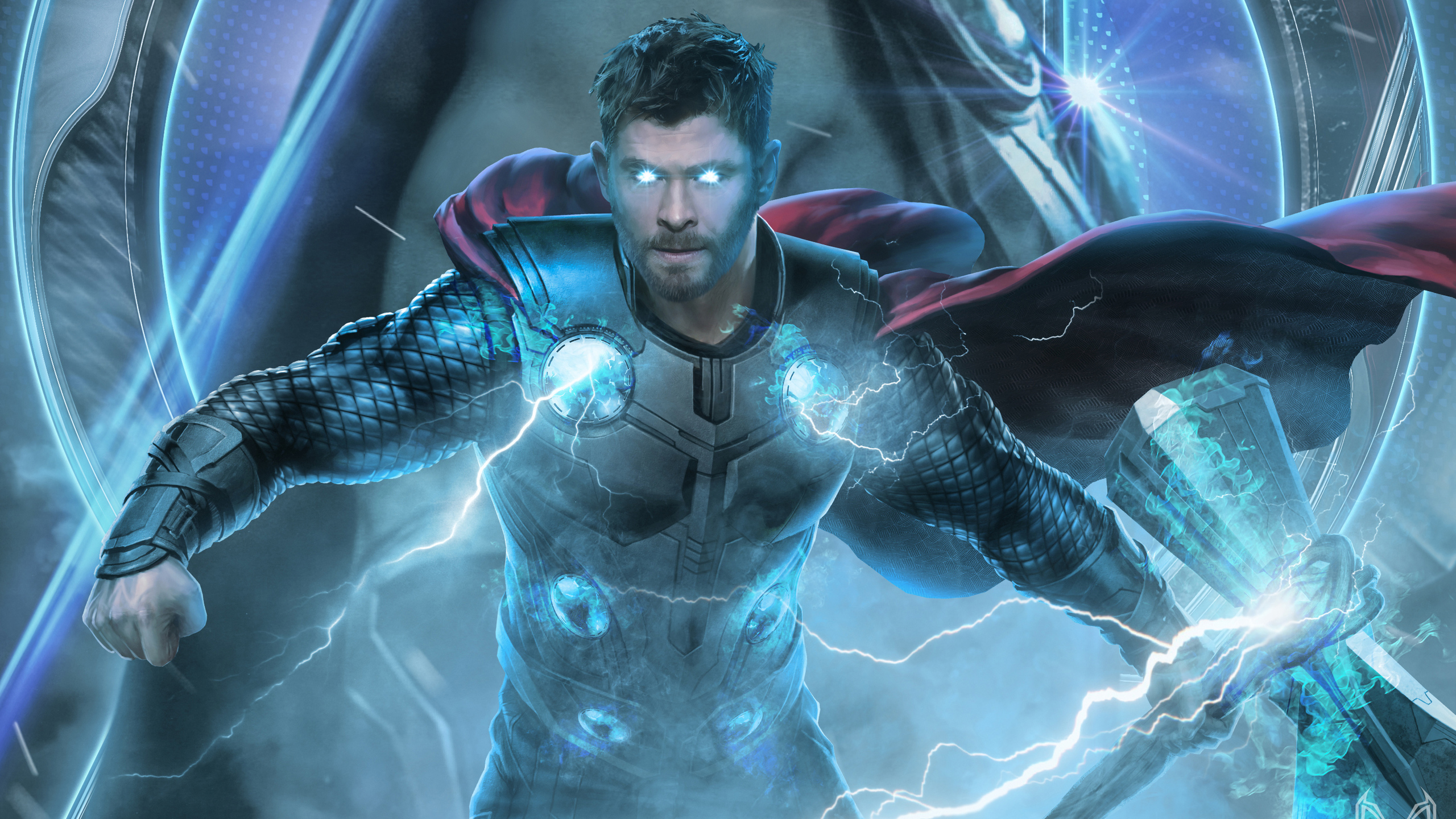 2560x1440 Thor Avengers End Game 2019 1440P Resolution HD ...