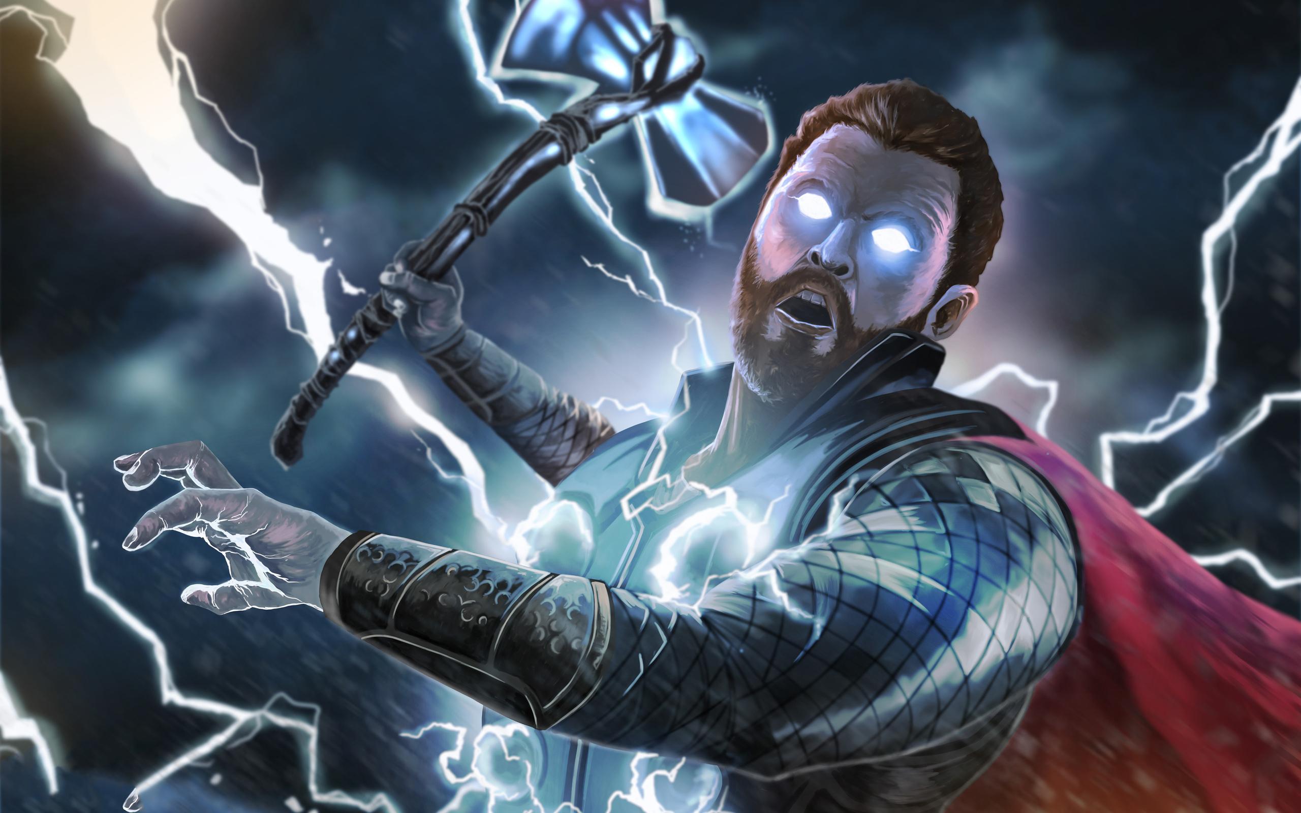 ... Thor Infinity War Wallpaper 2560x1600 Infiniti Car