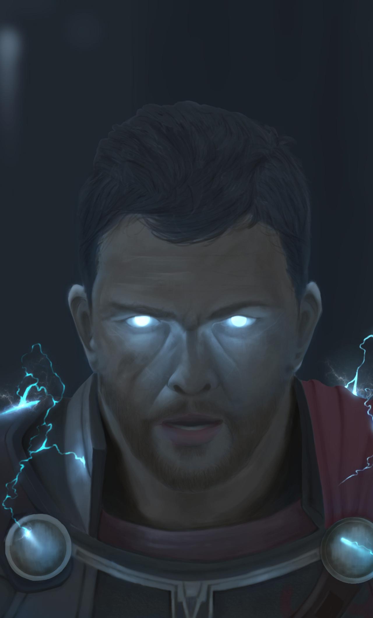 Thor God Of Thunder Artwork Oh