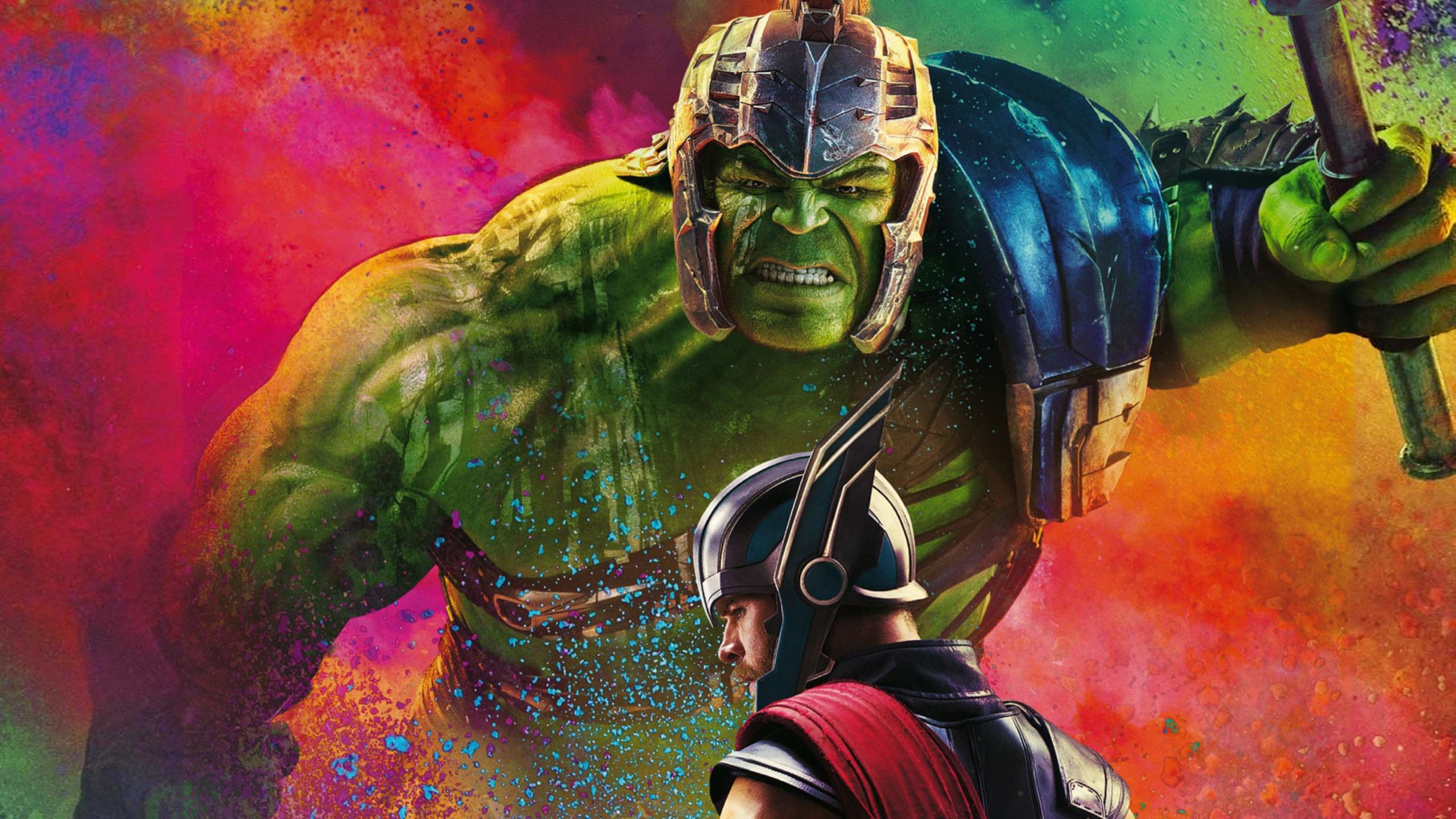 2560x1440 Thor Hulk In Thor Ragnarok 1440p Resolution Hd 4k