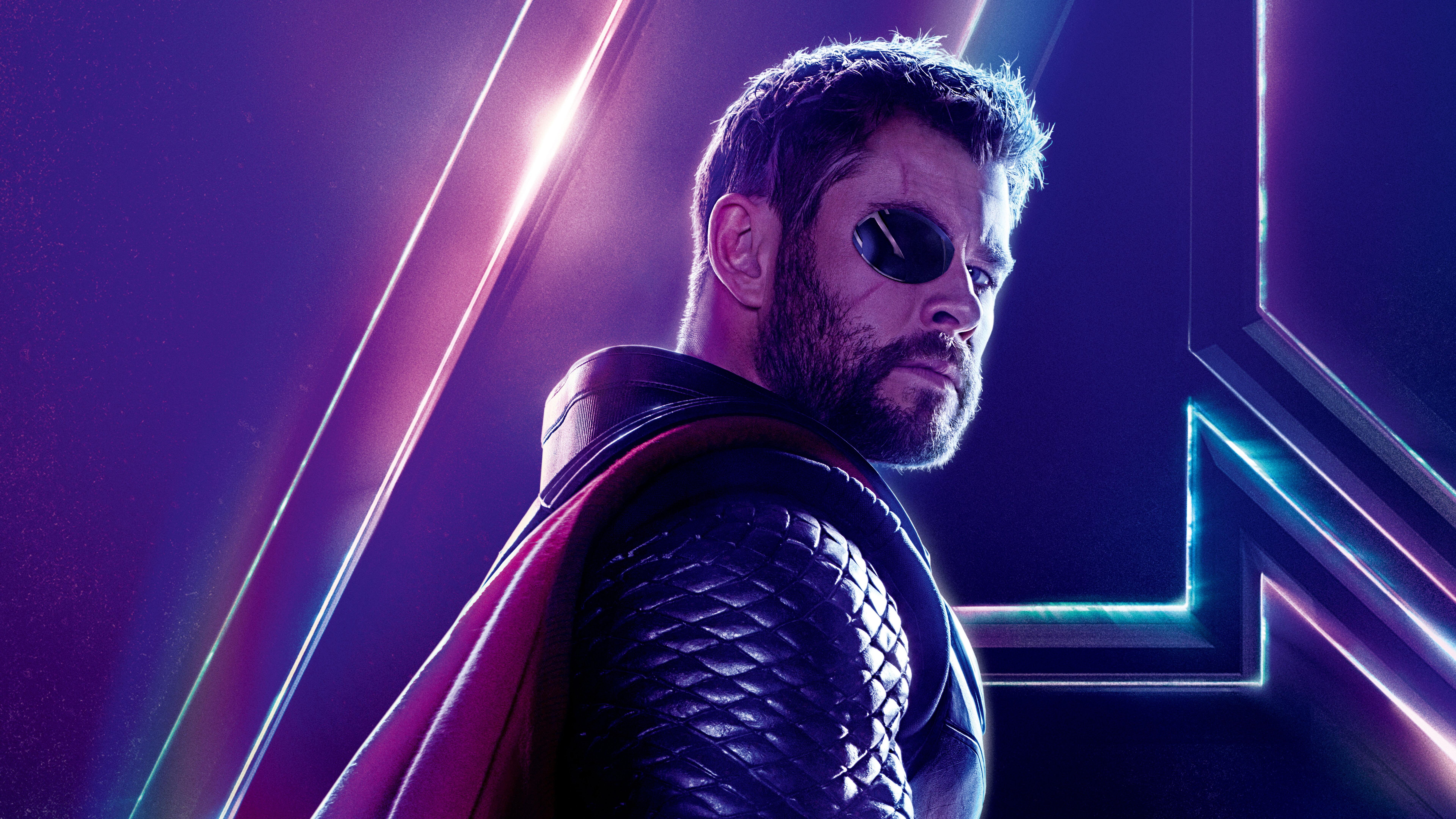7680x4320 Thor In Avengers Infinity War New 8k Poster 8k Hd 4k