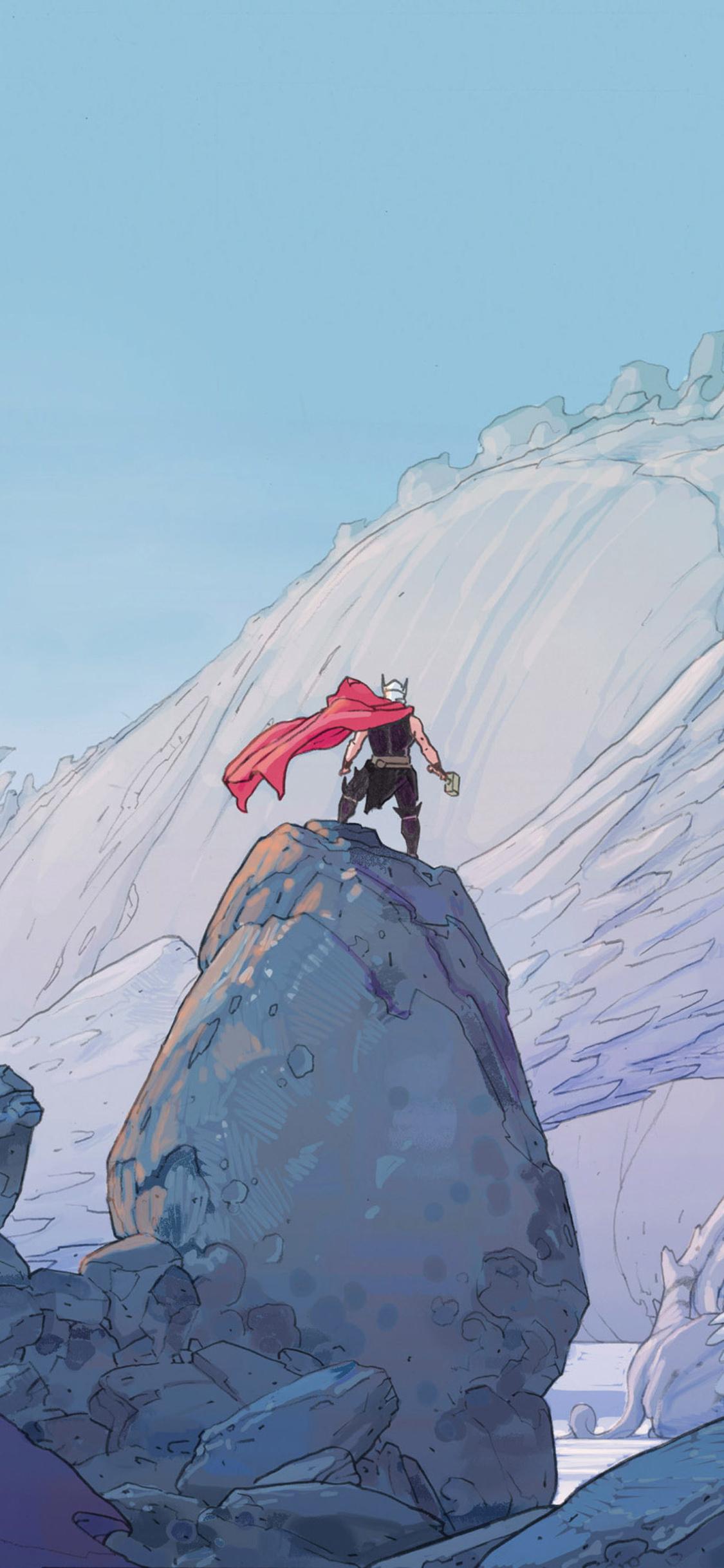 Thor Marvel Comic Artwork O0