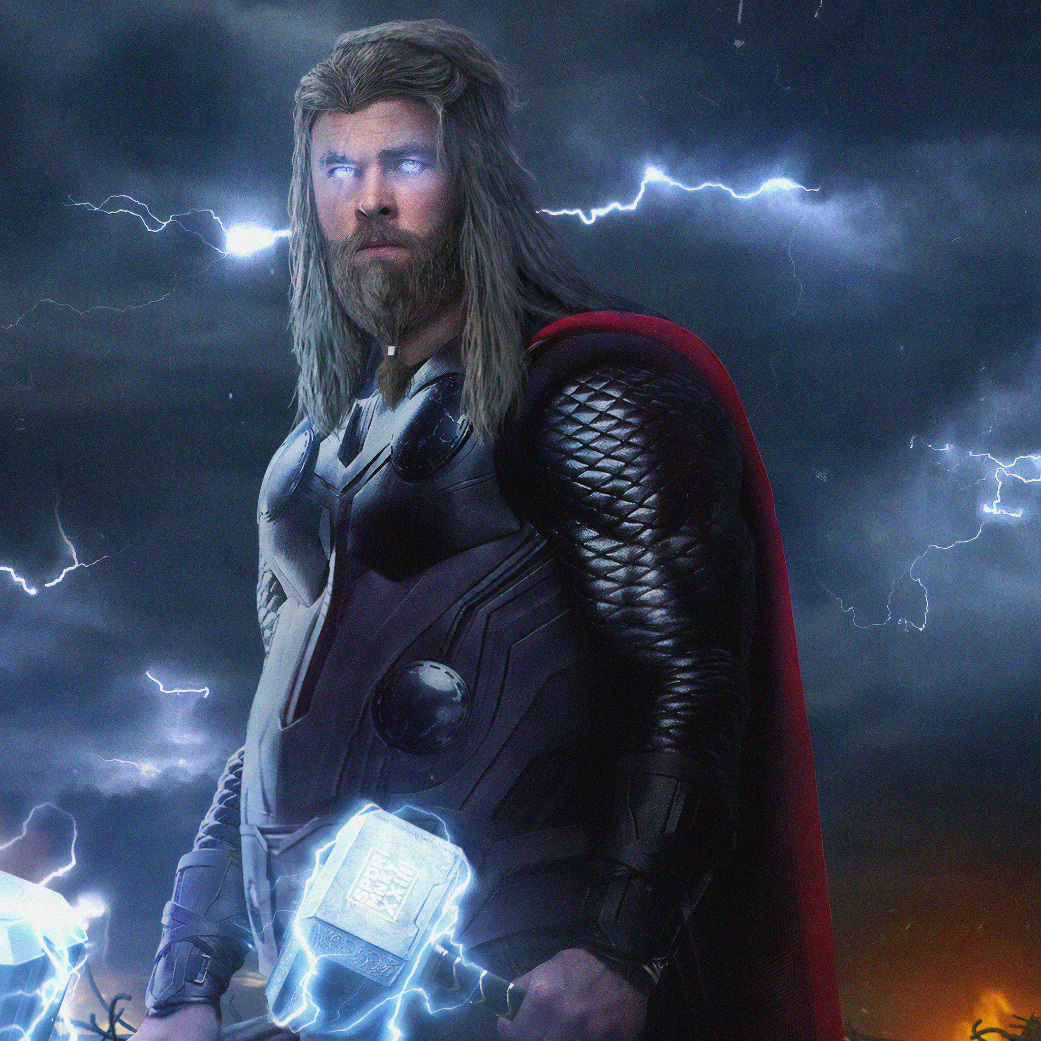 2048x2048 Thor New 4k Ipad Air HD 4k Wallpapers, Images ...