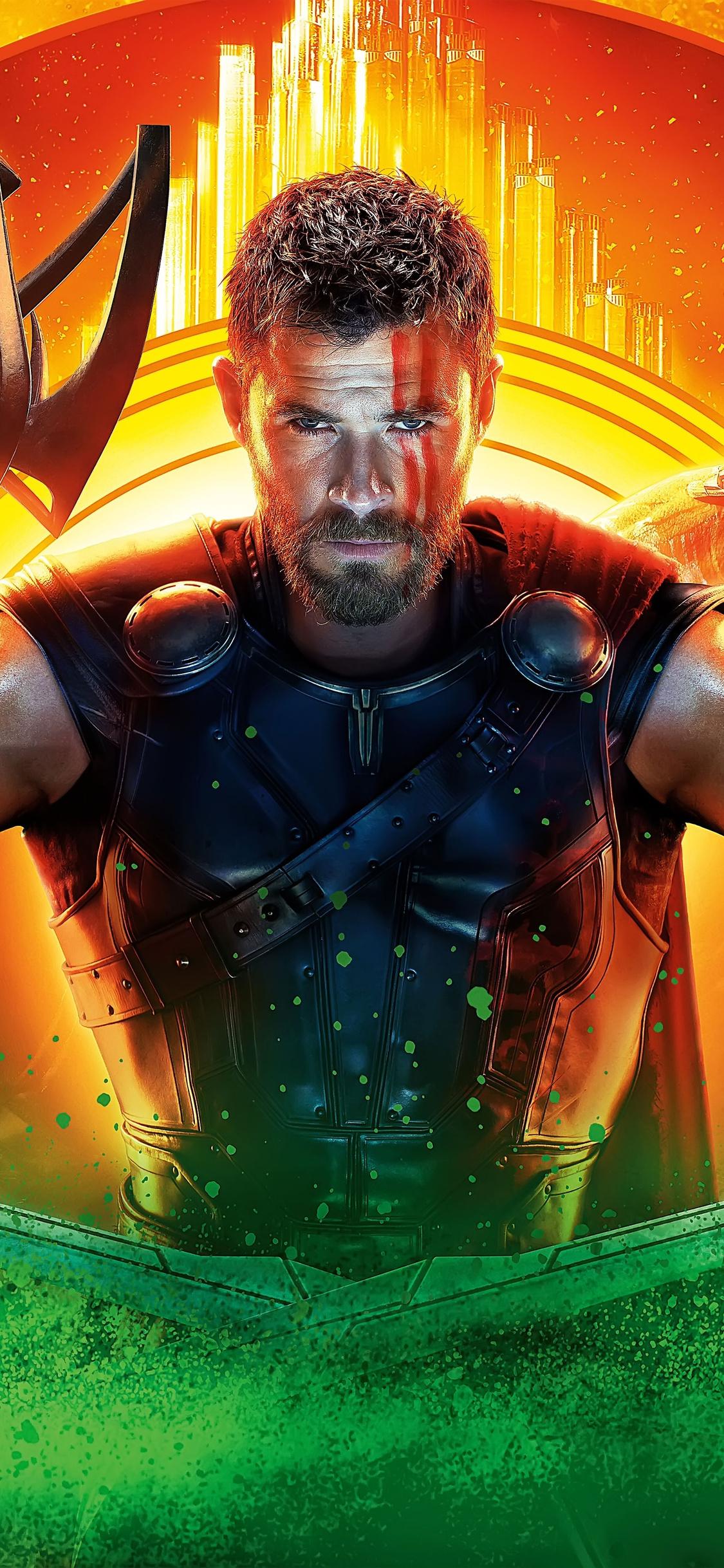 1125x2436 thor ragnarok 2017 movie 8k iphone xs iphone 10 - Thor ragnarok wallpaper 4k ...