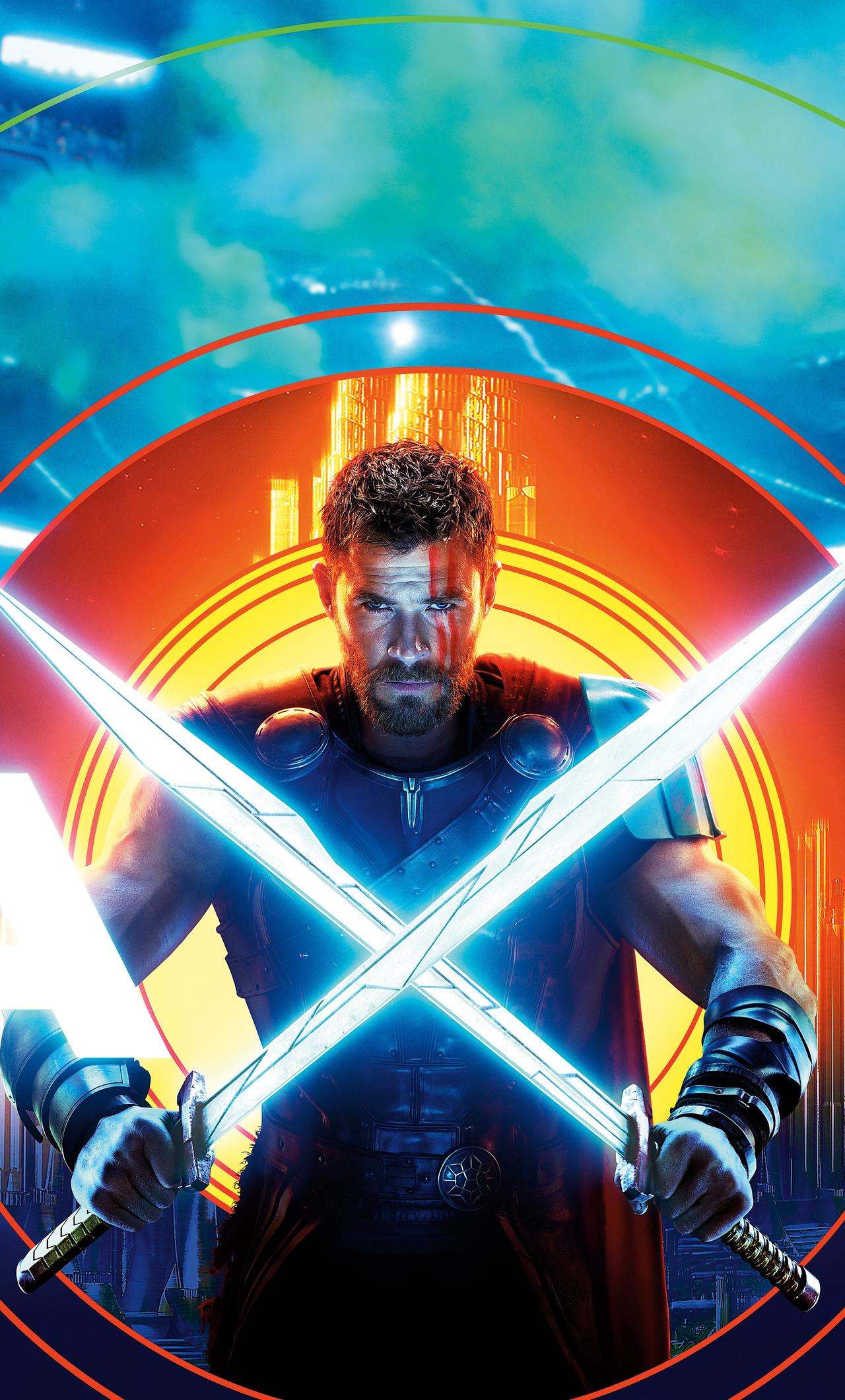 Thor Ragnarok Imax 5k Poster 6w