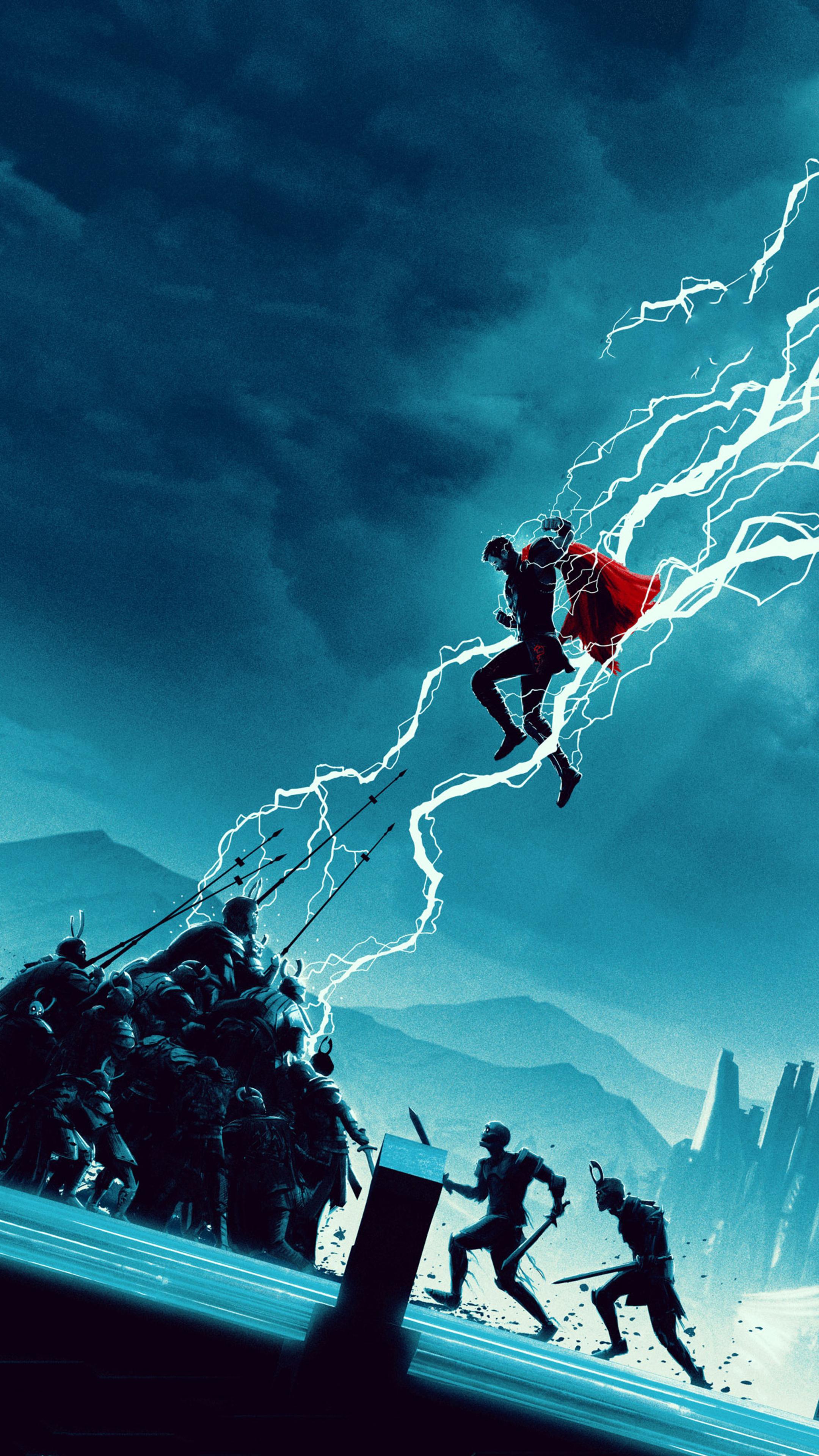 2160x3840 Thor Ragnarok Movie Artwork 2018 Sony Xperia X ...