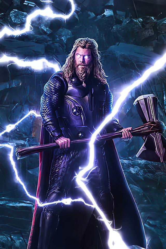 640x960 Thor Stormbreaker 2020 iPhone 4, iPhone 4S HD 4k ...