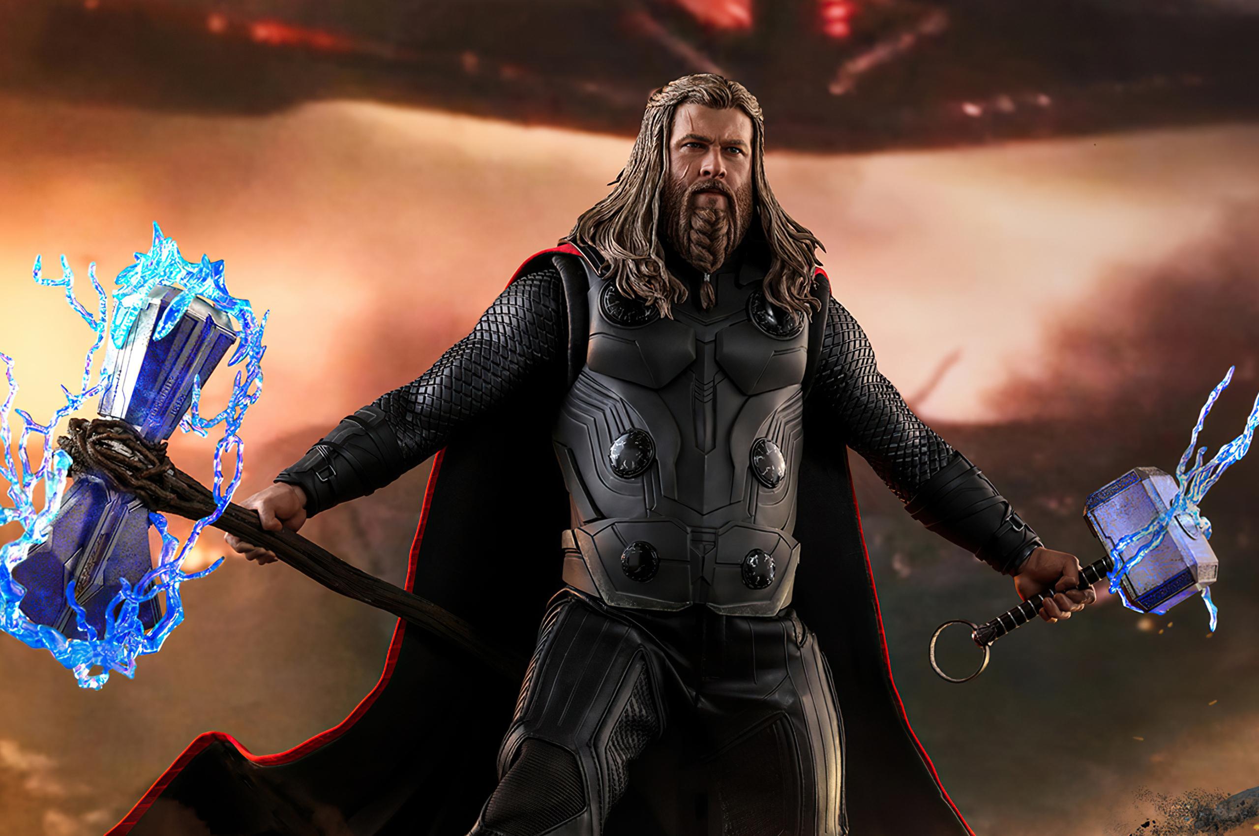 2560x1700 Thor Thunder Avengers Endgame Chromebook Pixel ...