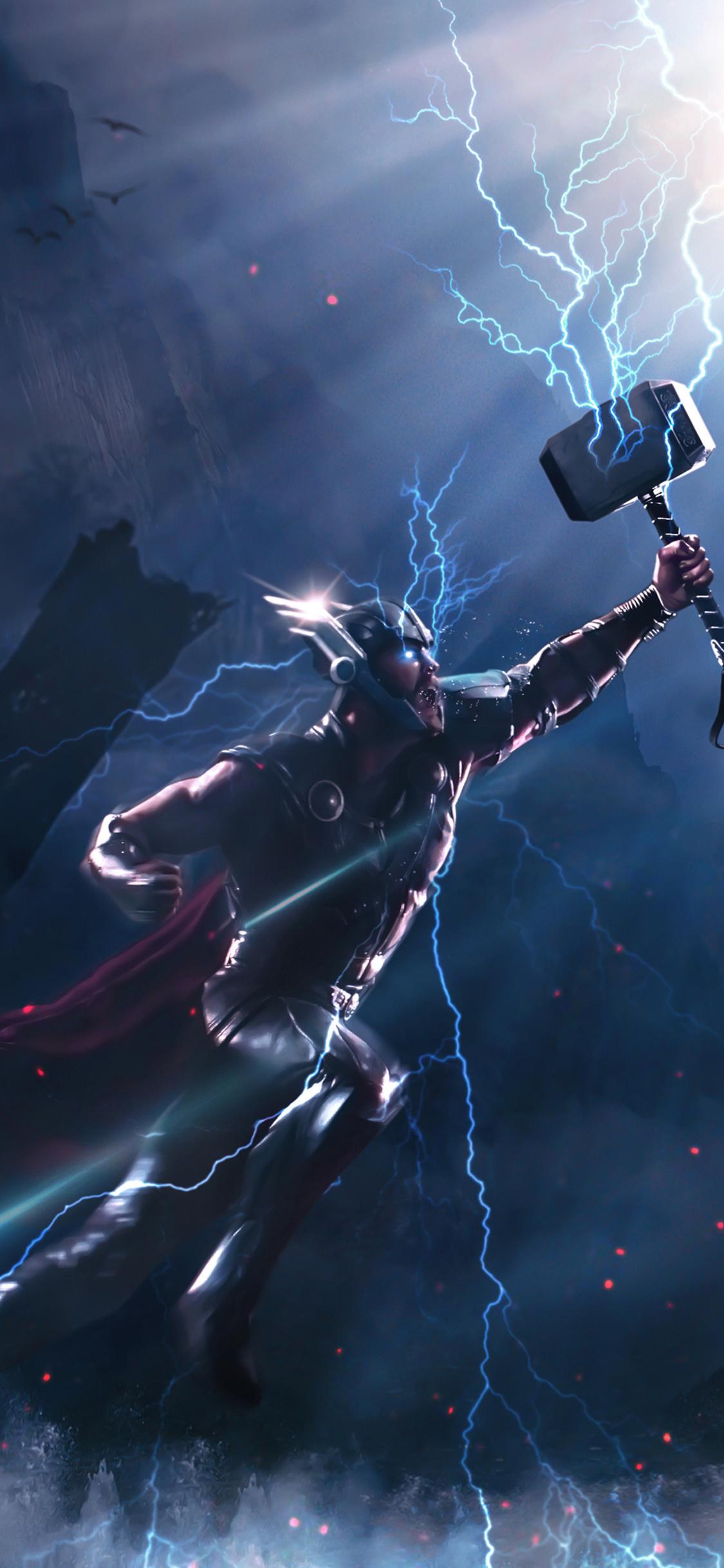1125x2436 Thor Vs Kratos 4k Iphone Xsiphone 10iphone X Hd