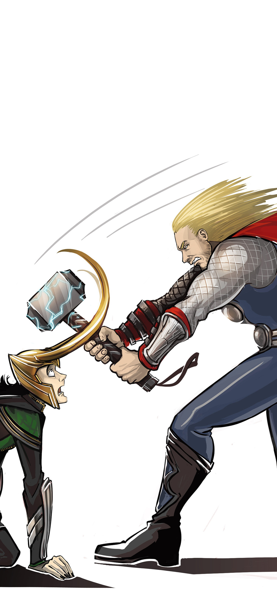 1125x2436 Thor Vs Loki Iphone Xs Iphone 10 Iphone X Hd 4k Wallpapers