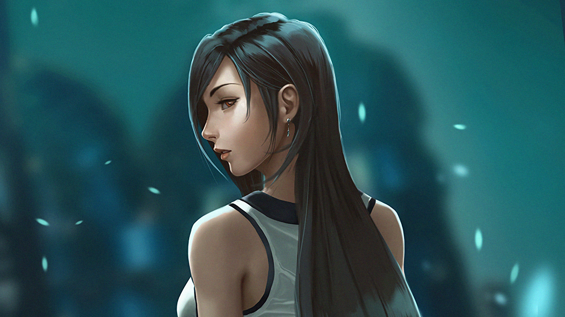 1920x1080 Tifa Lockhart Digital Art Laptop Full Hd 1080p Hd