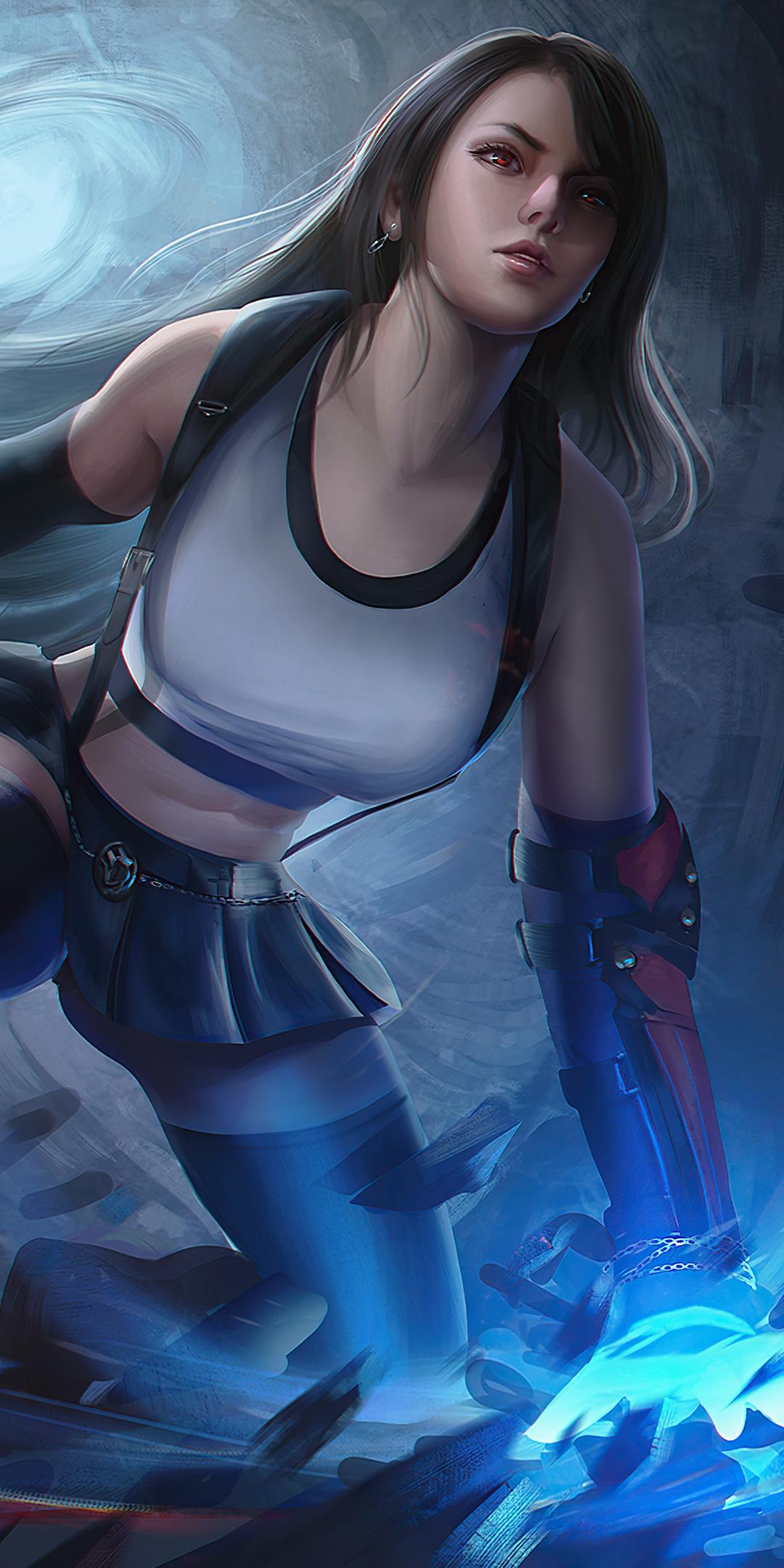 1080x2160 Tifa Lockhart Final Fantasy 7 Remake 4k One Plus