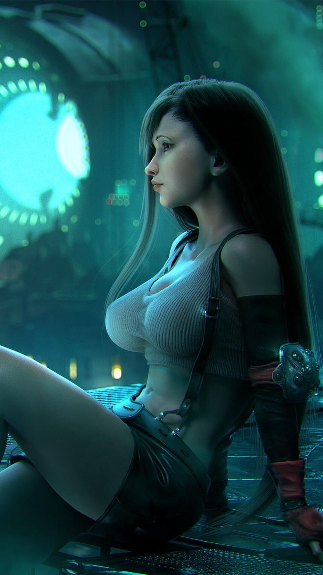 image Final fantasy vii tifa prisoner 3d