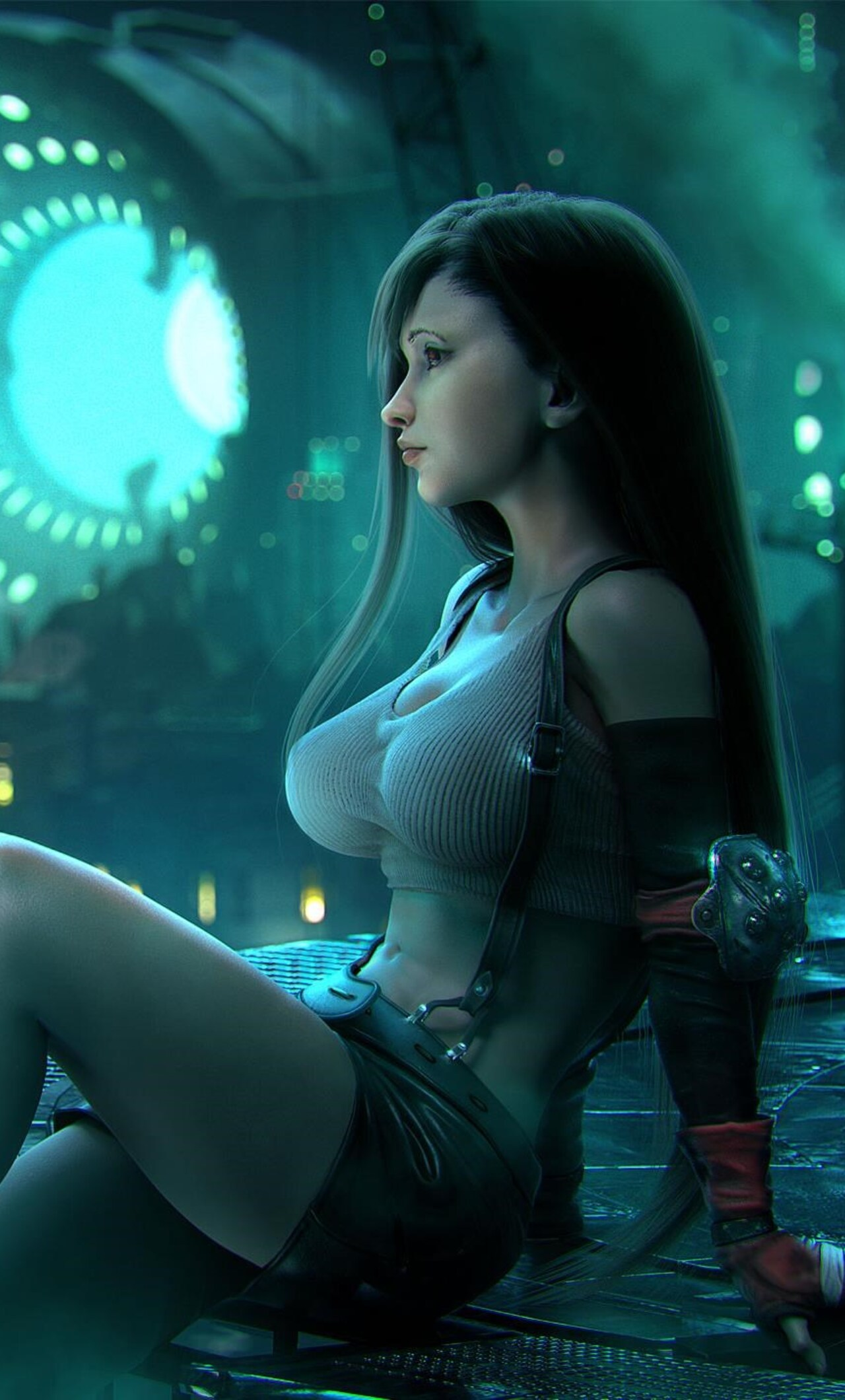Tifa Lockhart Final Fantasy Artwork Do