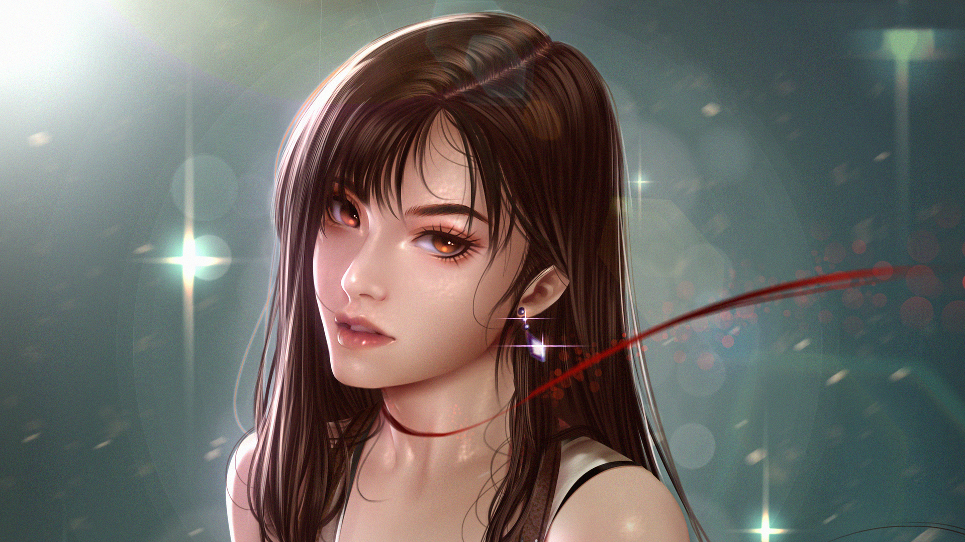 1920x1080 Tifa Lockhart Finalfantasy Laptop Full Hd 1080p Hd