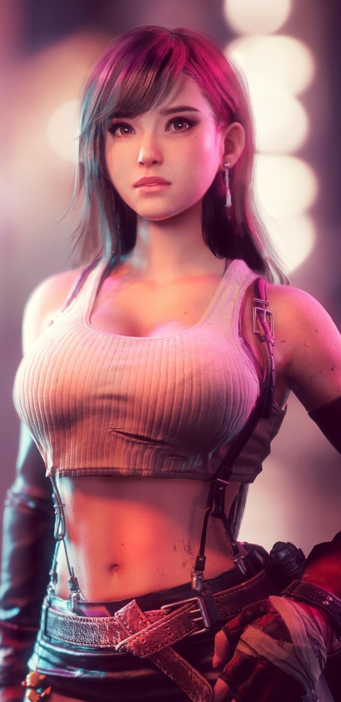 Tifa Lockhart In Final Fantasy Vii Po