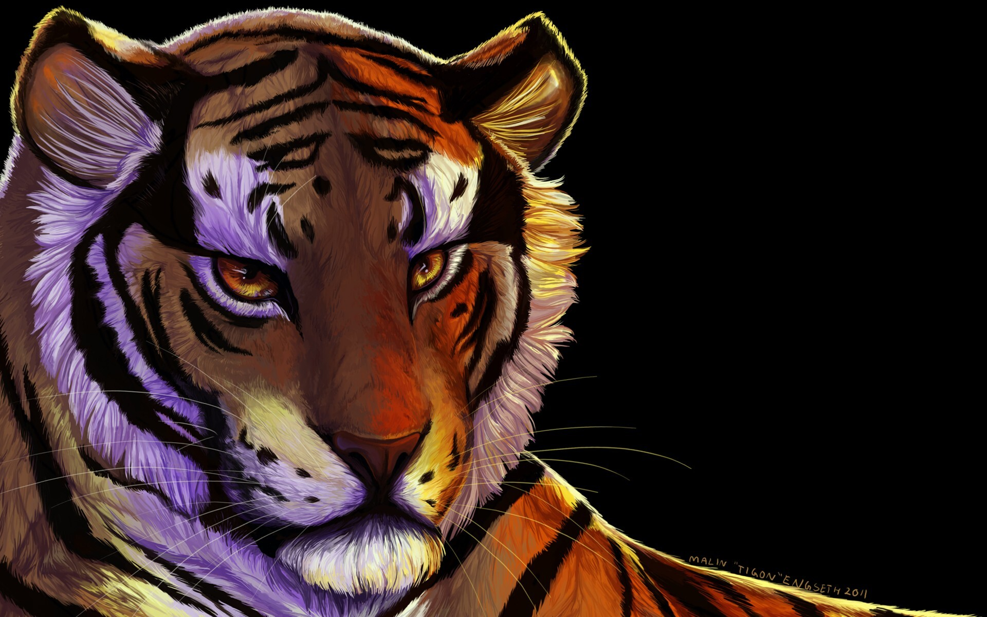 1920x1200 Tiger Art 1080p Resolution Hd 4k Wallpapers Images