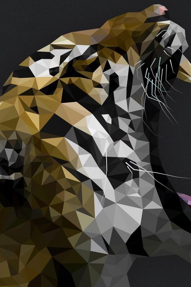 640x960 tiger digital art iphone 4 iphone 4s hd 4k wallpapers tiger digital artg thecheapjerseys Images