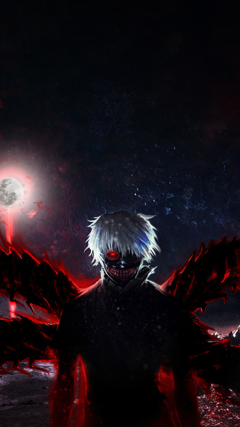 480x854 Tokyo Ghoul 4k Android One Hd 4k Wallpapers Images