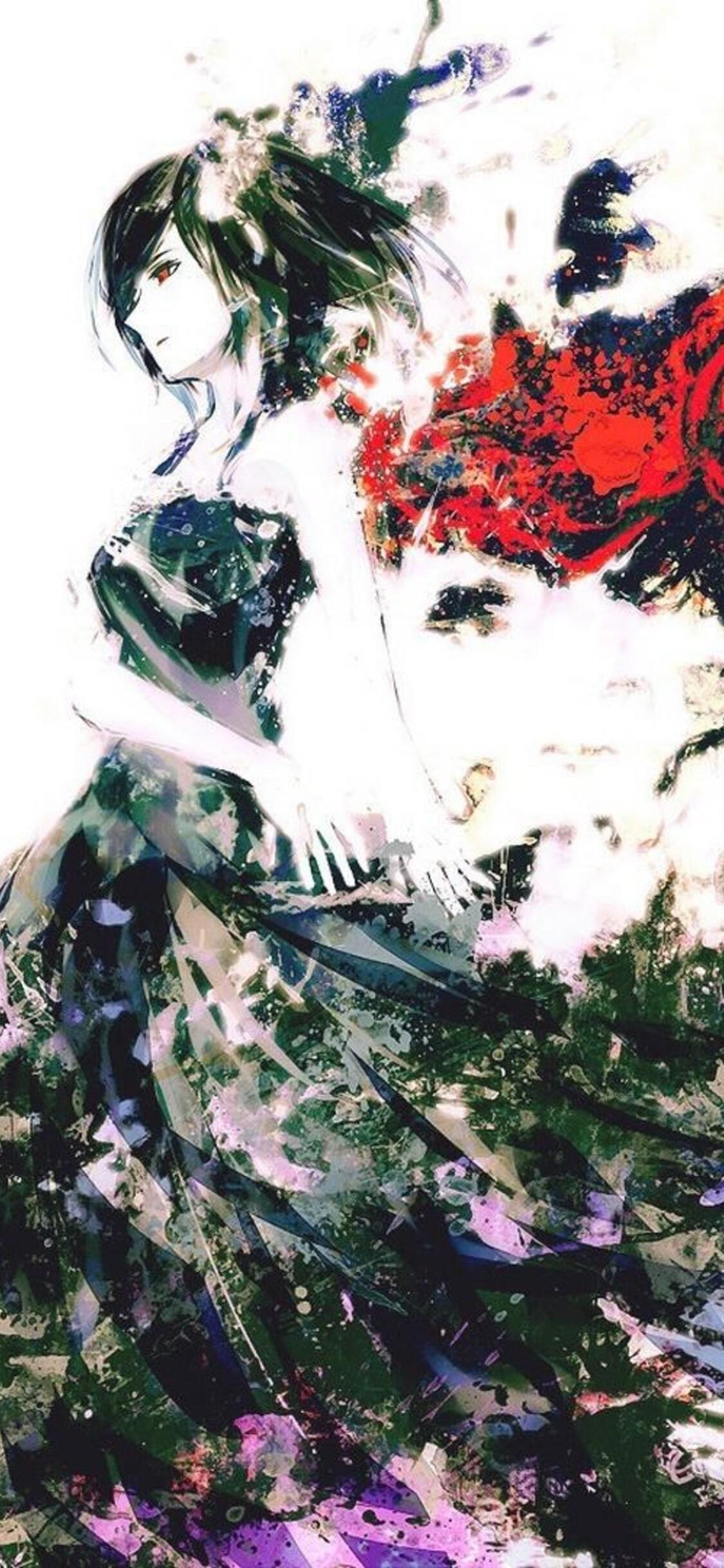 1125x2436 Tokyo Ghoul Art Anime Iphone Xs Iphone 10 Iphone X Hd 4k