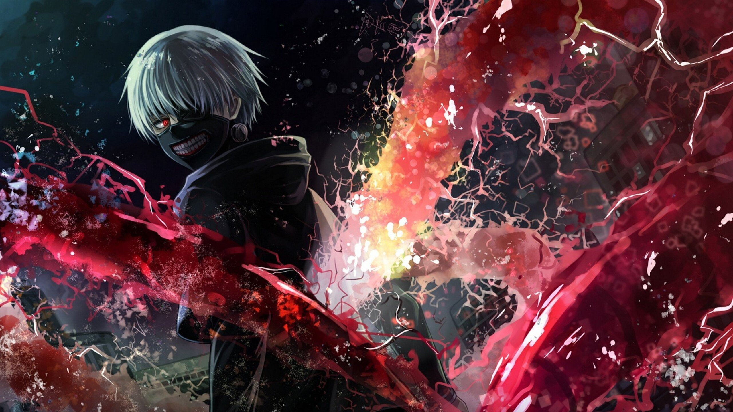 2560x1440 Tokyo Ghoul Art 1440P Resolution HD 4k Wallpapers, Images, Backgrounds, Photos and